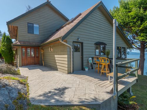 front-of-house-2 at 3941 Francis Peninsula Road, Pender Harbour Egmont, Sunshine Coast