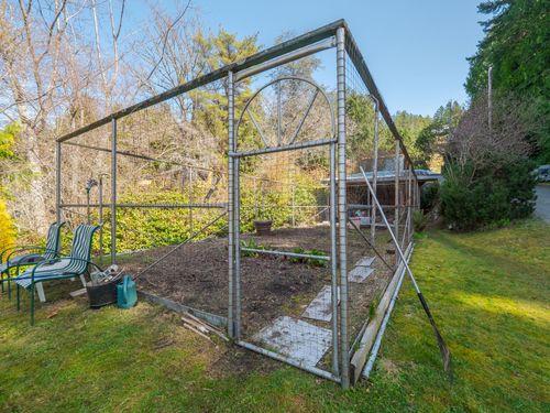 garden at 3941 Francis Peninsula Road, Pender Harbour Egmont, Sunshine Coast