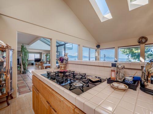 kitchen-to-living at 3941 Francis Peninsula Road, Pender Harbour Egmont, Sunshine Coast