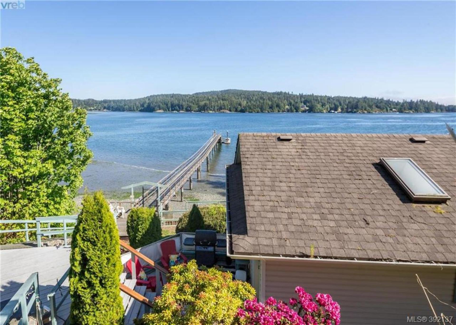 Ocean Views From Above The House at 6435 Sooke Road, Sooke Vill Core, Sooke