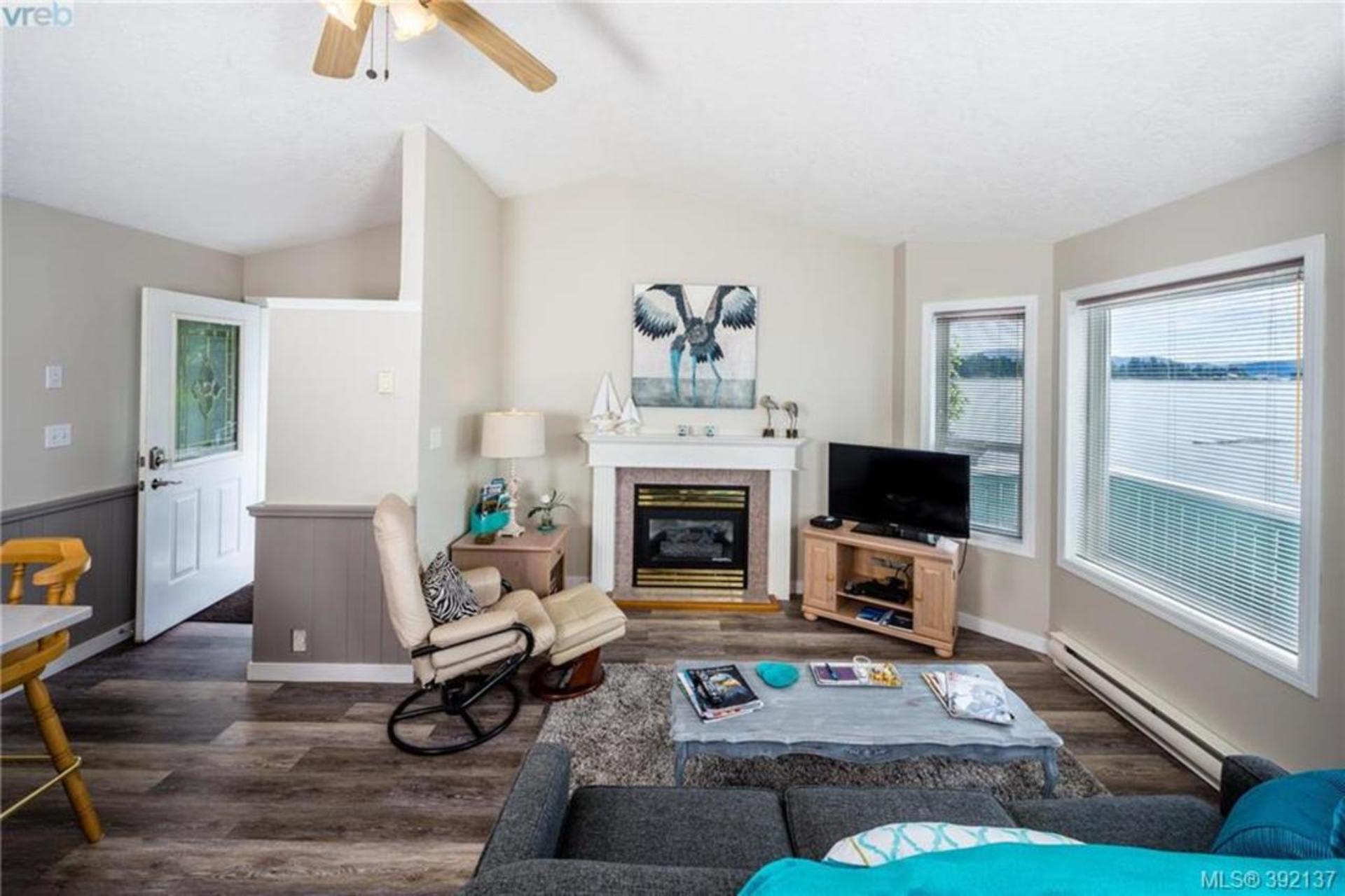 Living Room at 6435 Sooke Road, Sooke Vill Core, Sooke