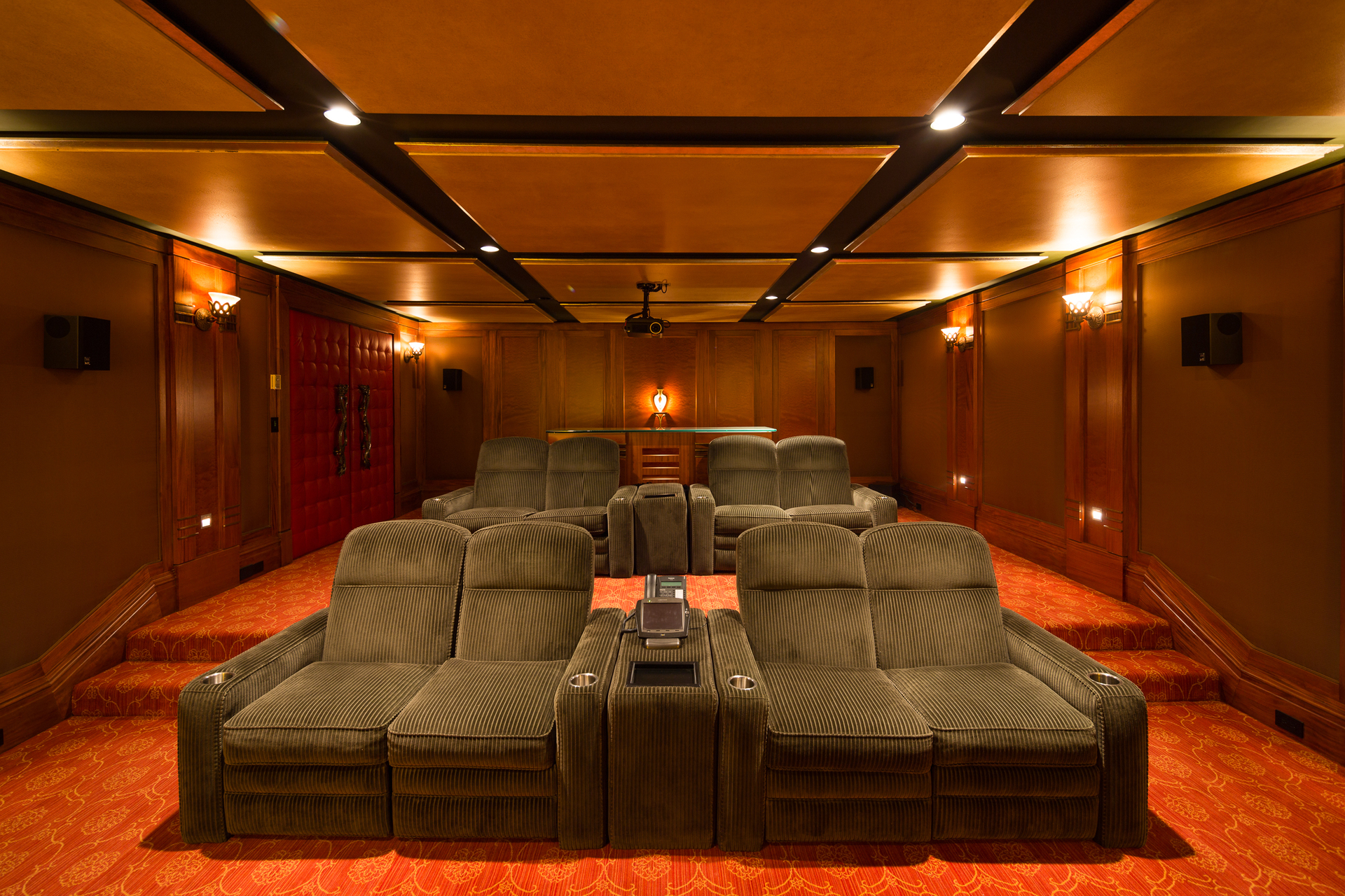 theater at 9344 Ardmore Drive, Ardmore, North Saanich