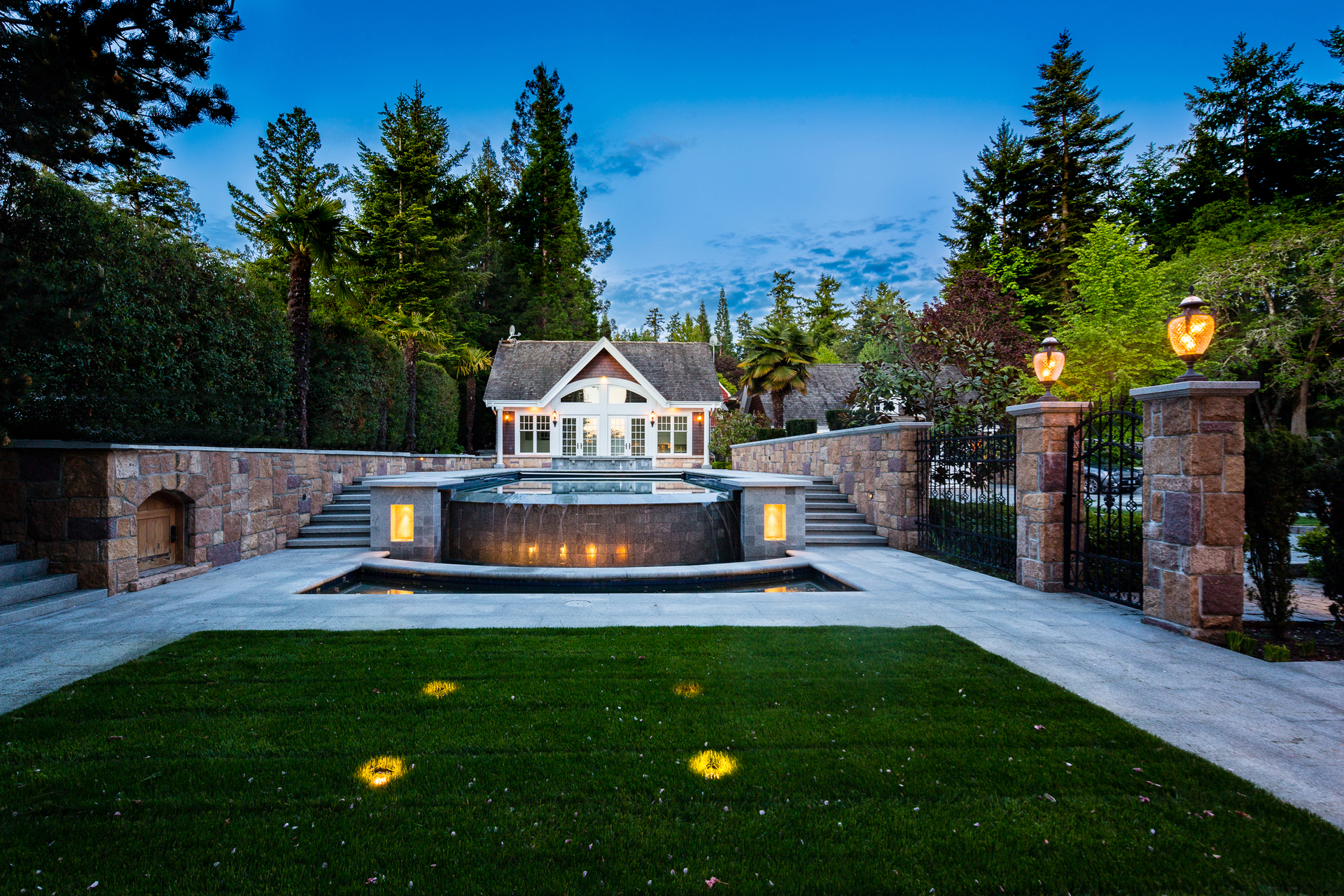 tw-pool-house at 9344 Ardmore Drive, Ardmore, North Saanich