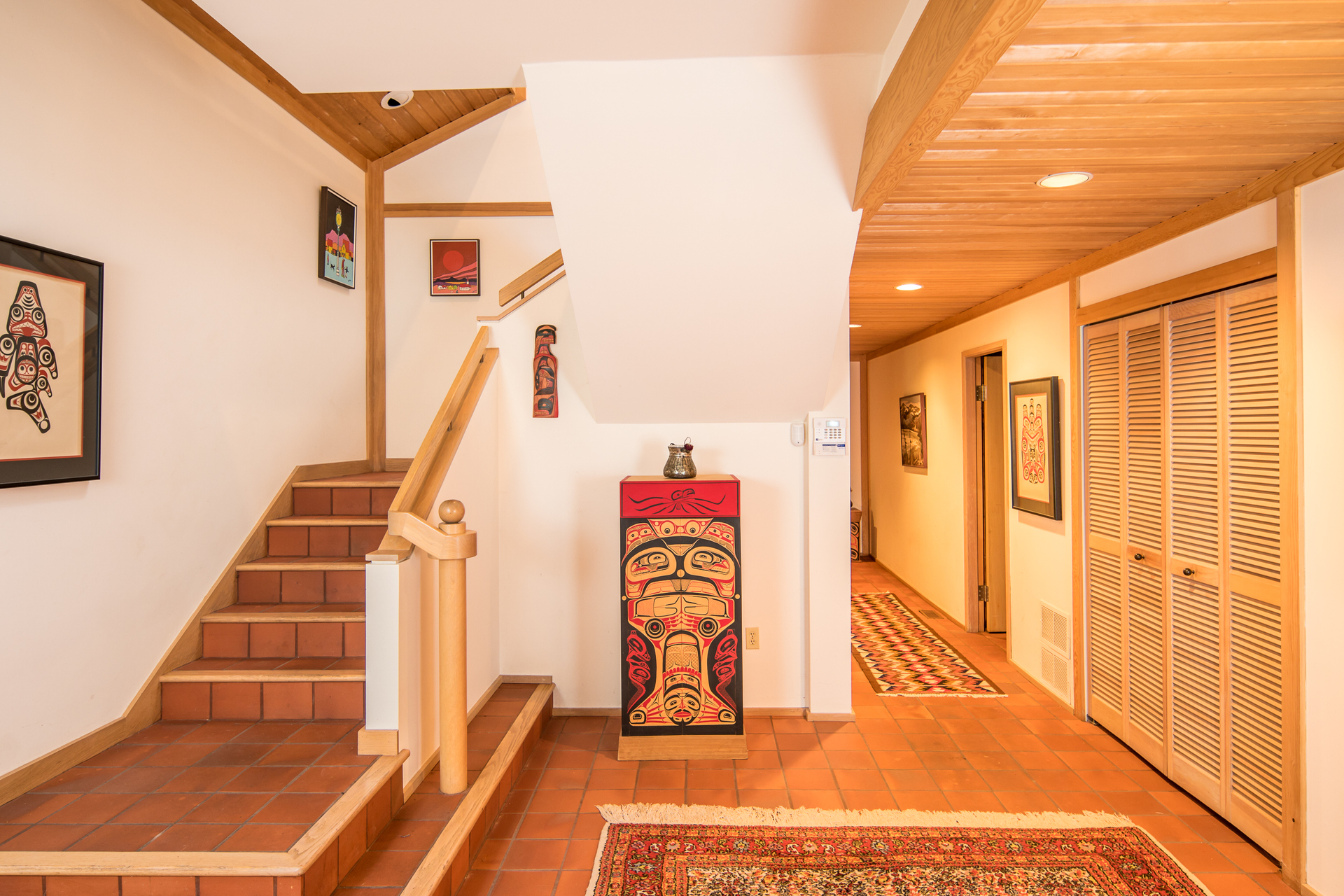 West Coast Main Residence at 1850 Land's End Road, Lands End, North Saanich