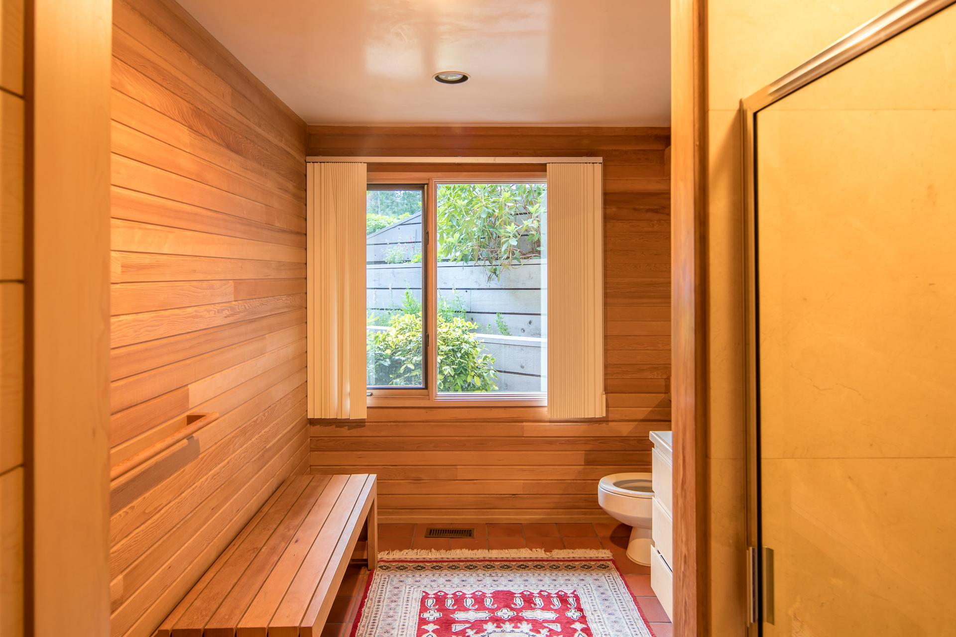 Bathroom at 1850 Lands End Road, Lands End, North Saanich