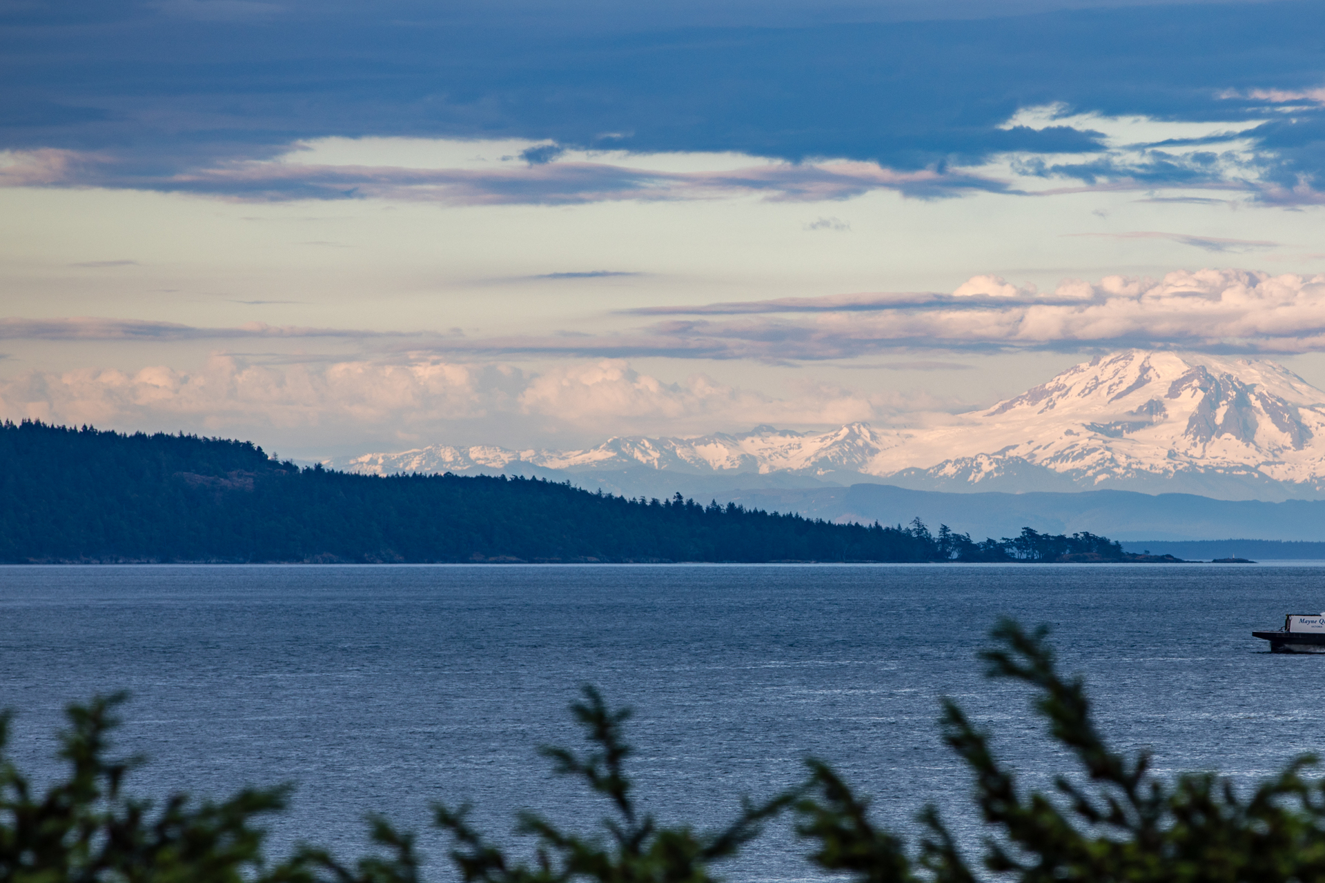 Mount Baker on the Horizon at 1850 Land's End Road, Lands End, North Saanich