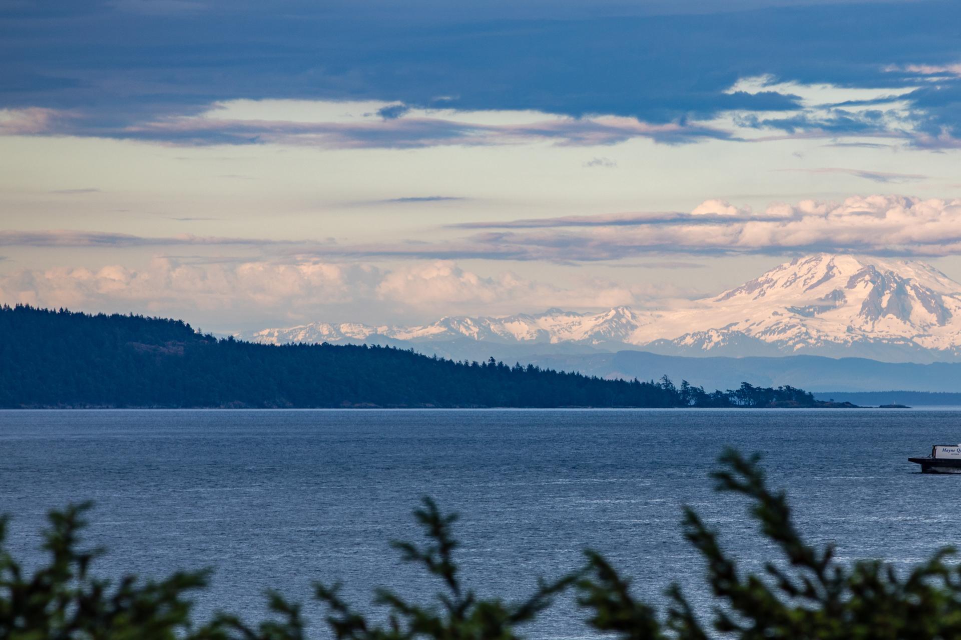 Mount Baker on the Horizon at 1850 Lands End Road, Lands End, North Saanich