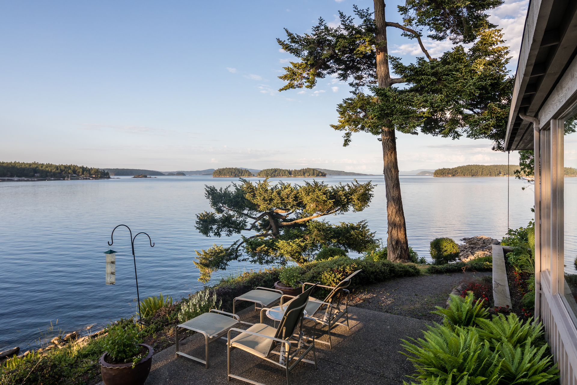 Views of the Gulf Islands at 1850 Land's End Road, Lands End, North Saanich