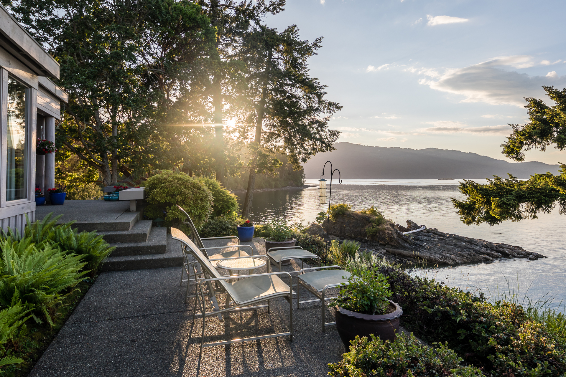 Oceanfront Views at 1850 Land's End Road, Lands End, North Saanich