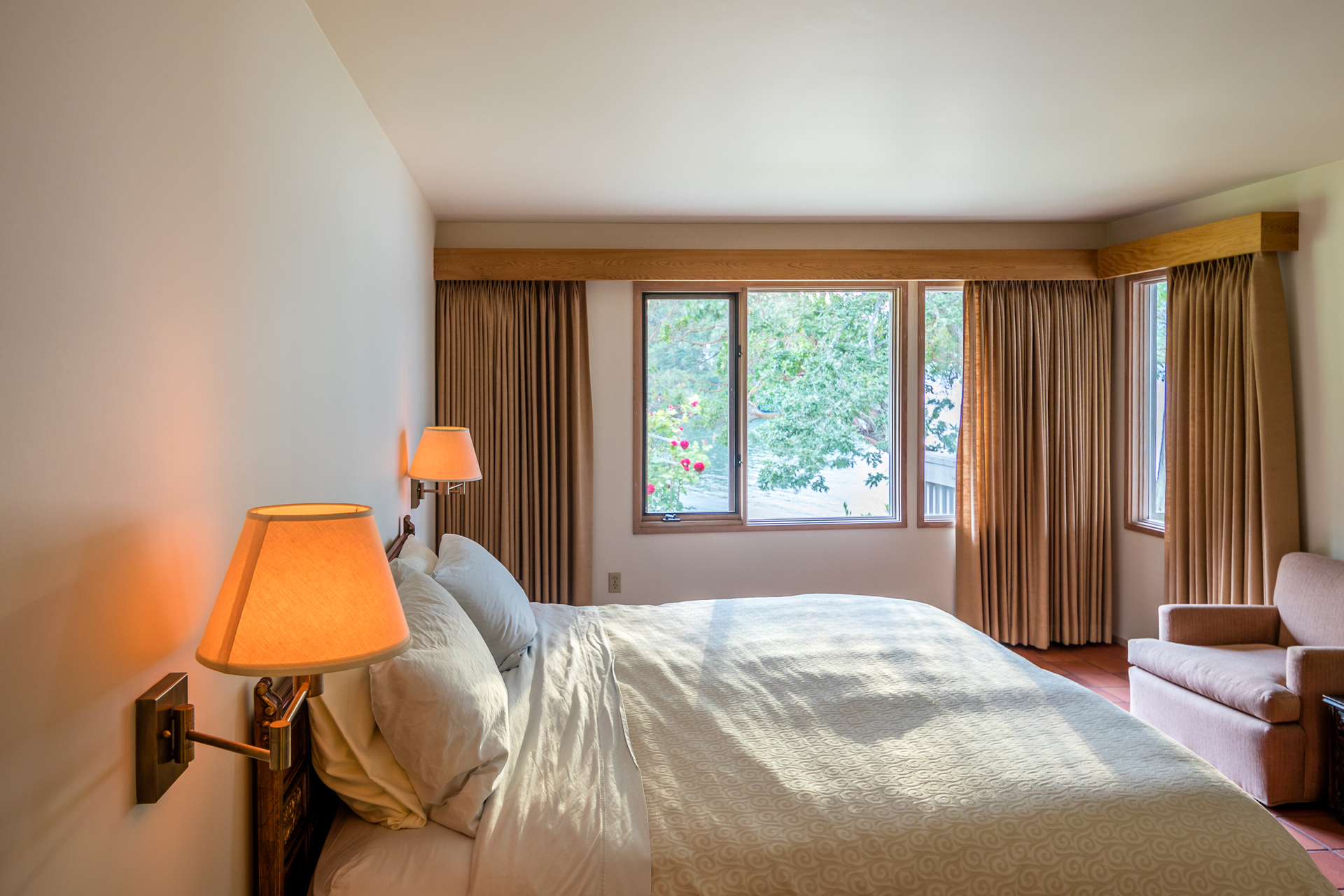 Guest Room at 1850 Land's End Road, Lands End, North Saanich