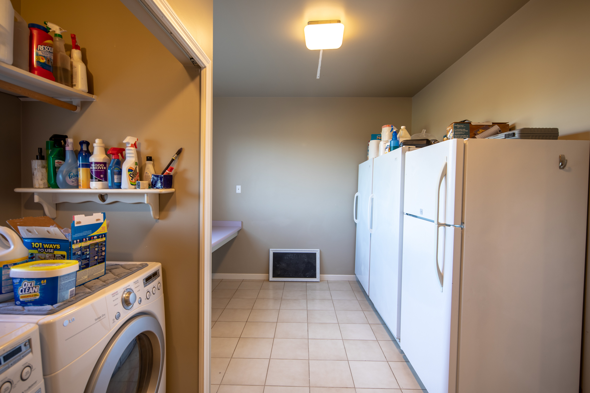 Laundry Room at 1950 Highfield Road, Keating, Central Saanich
