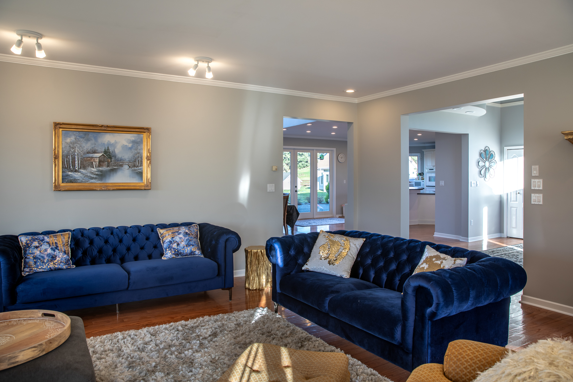 Living Room at 1950 Highfield Road, Keating, Central Saanich