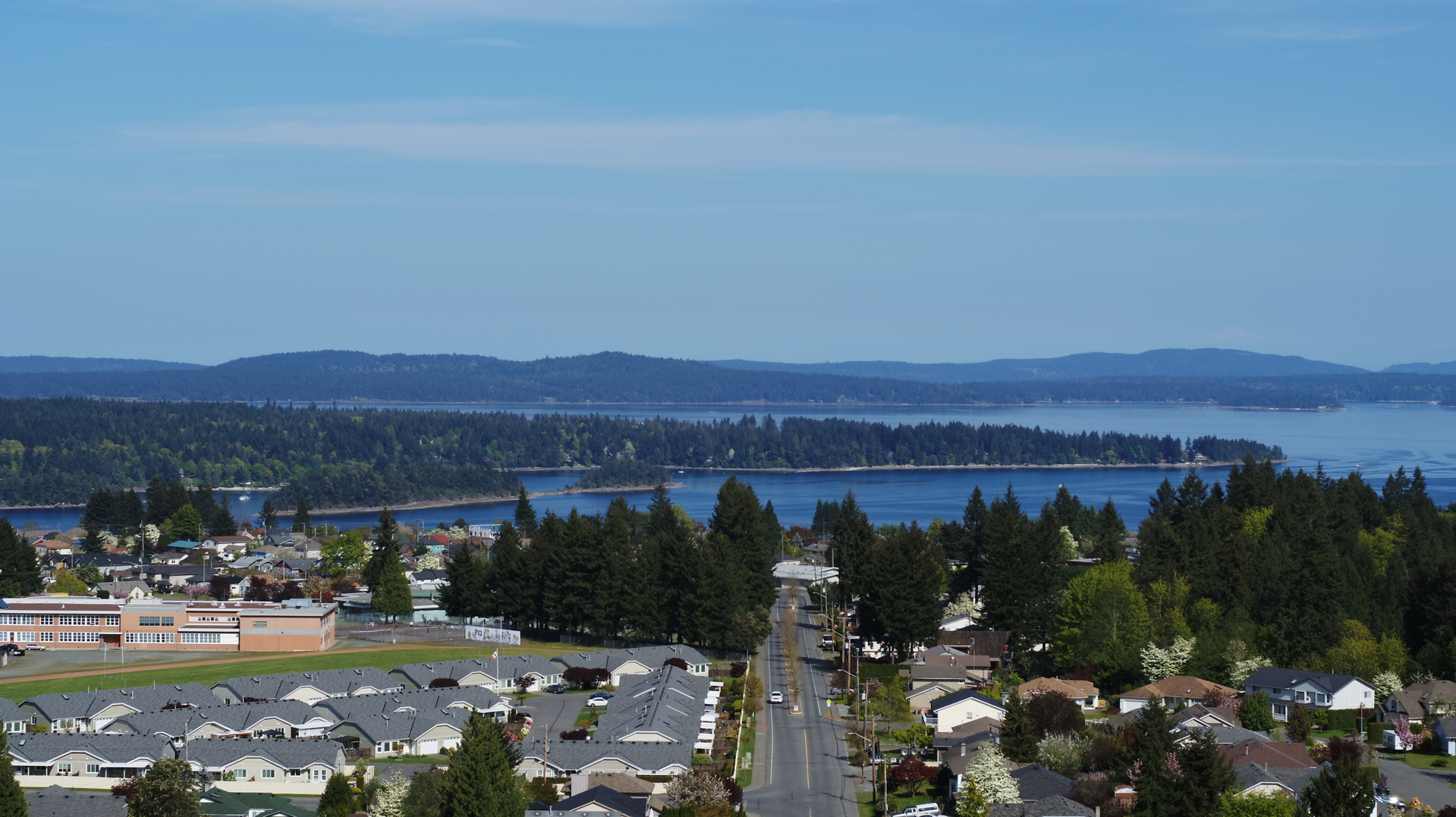Eastward View at Lot A Malone Road, Ladysmith, Vancouver Island