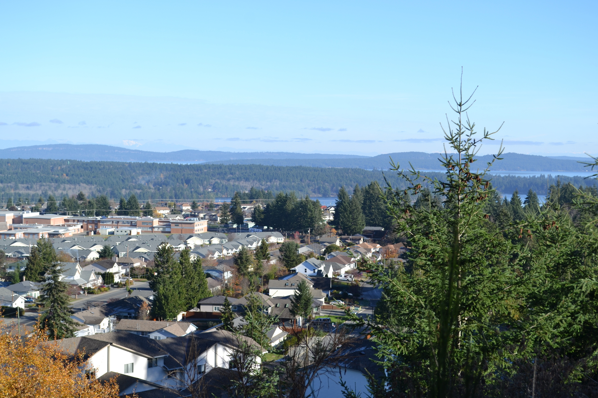 North Northeast View at Lot A Malone Road, Ladysmith, Vancouver Island