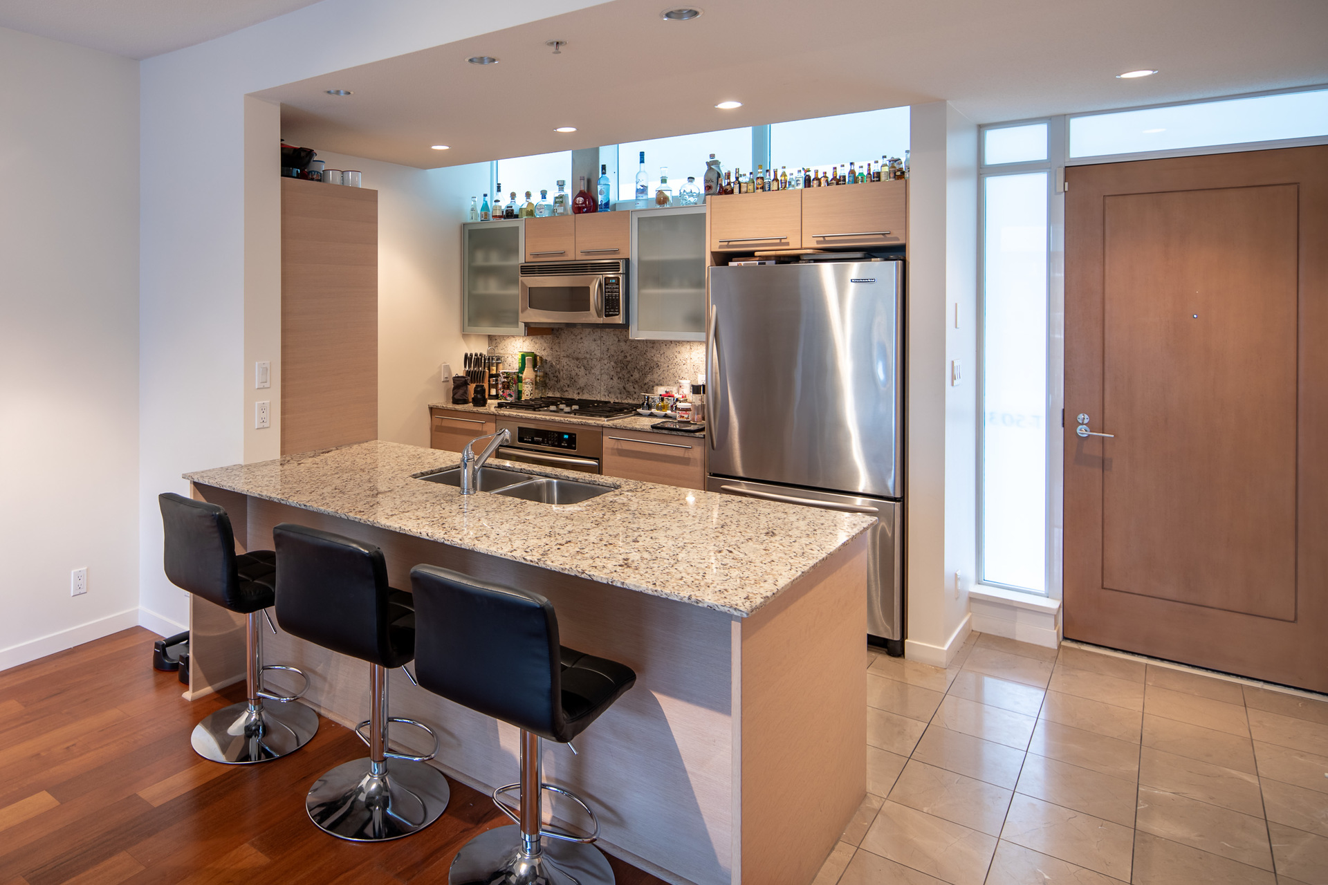Stainless Steel Appliances at 503 - 66 Songhees Road, Songhees, Victoria West
