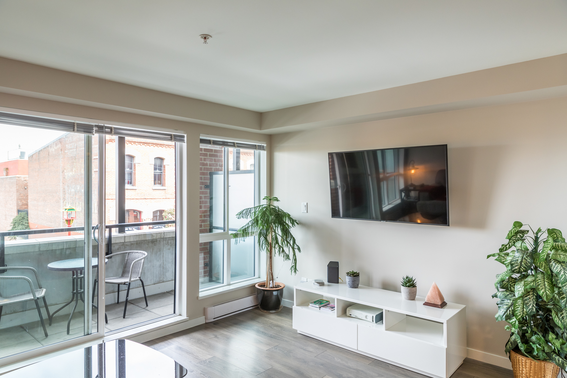 Living Room at 201 - 517 Fisgard Street, Downtown, Victoria
