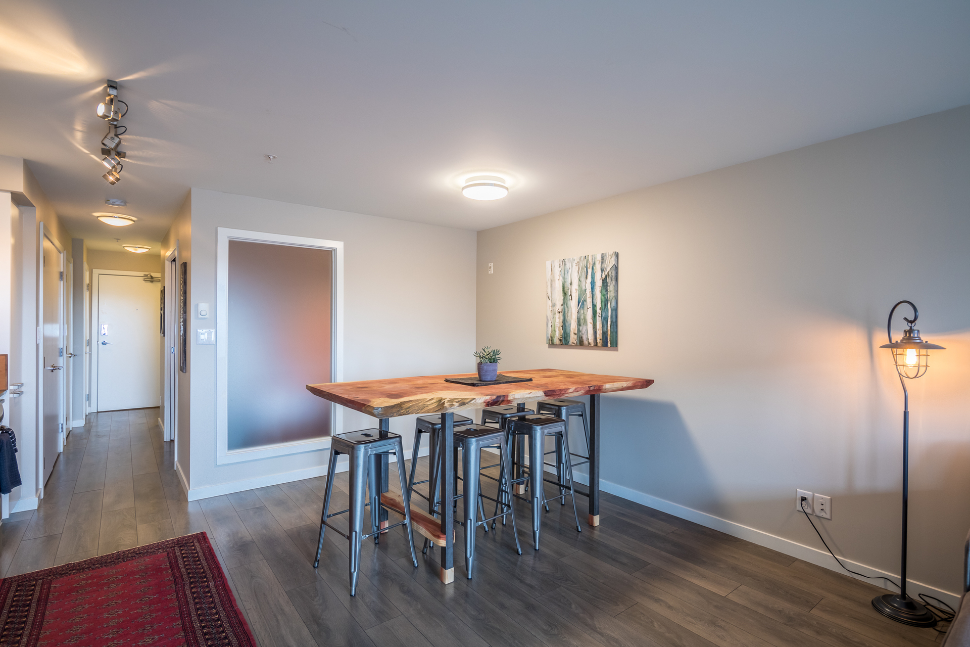 Dining Area at 201 - 517 Fisgard Street, Downtown, Victoria