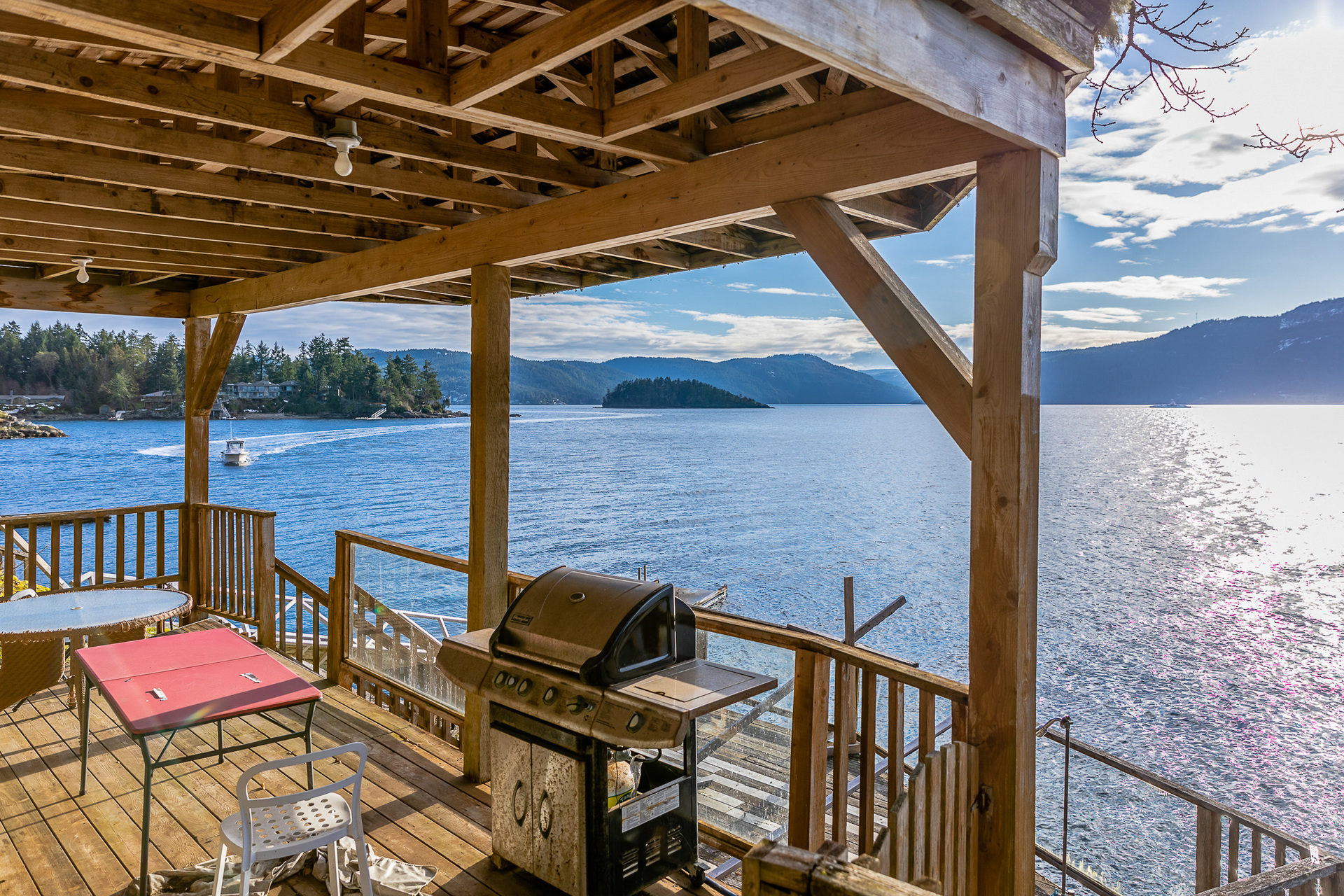 Waterfront Living at 8100 Mcphail Road, Inlet, Central Saanich