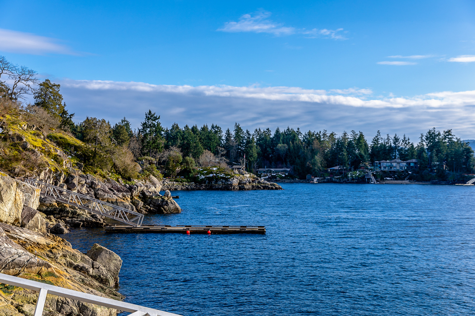 Dock with Foreshore Lease at 8100 Mcphail Road, Inlet, Central Saanich