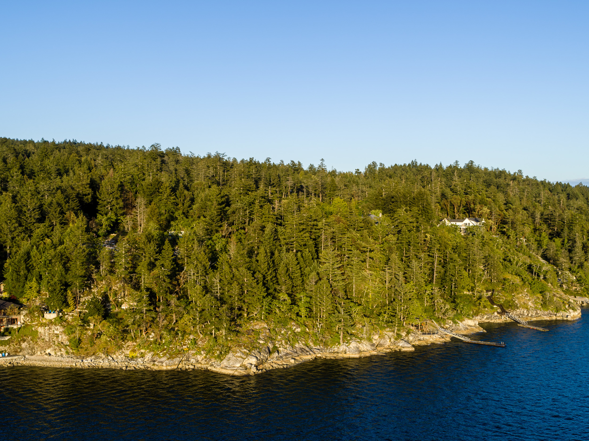 450-ft of Ocean Frontage at 8100 Mcphail Road, Inlet, Central Saanich