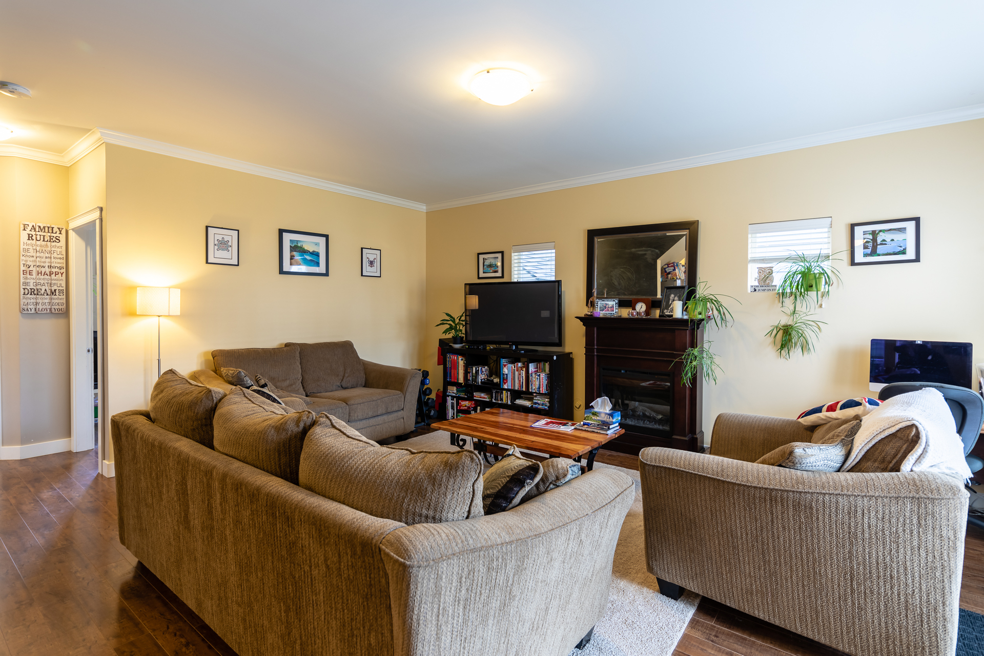 Living Room at 3288 Merlin Road, Happy Valley, Langford