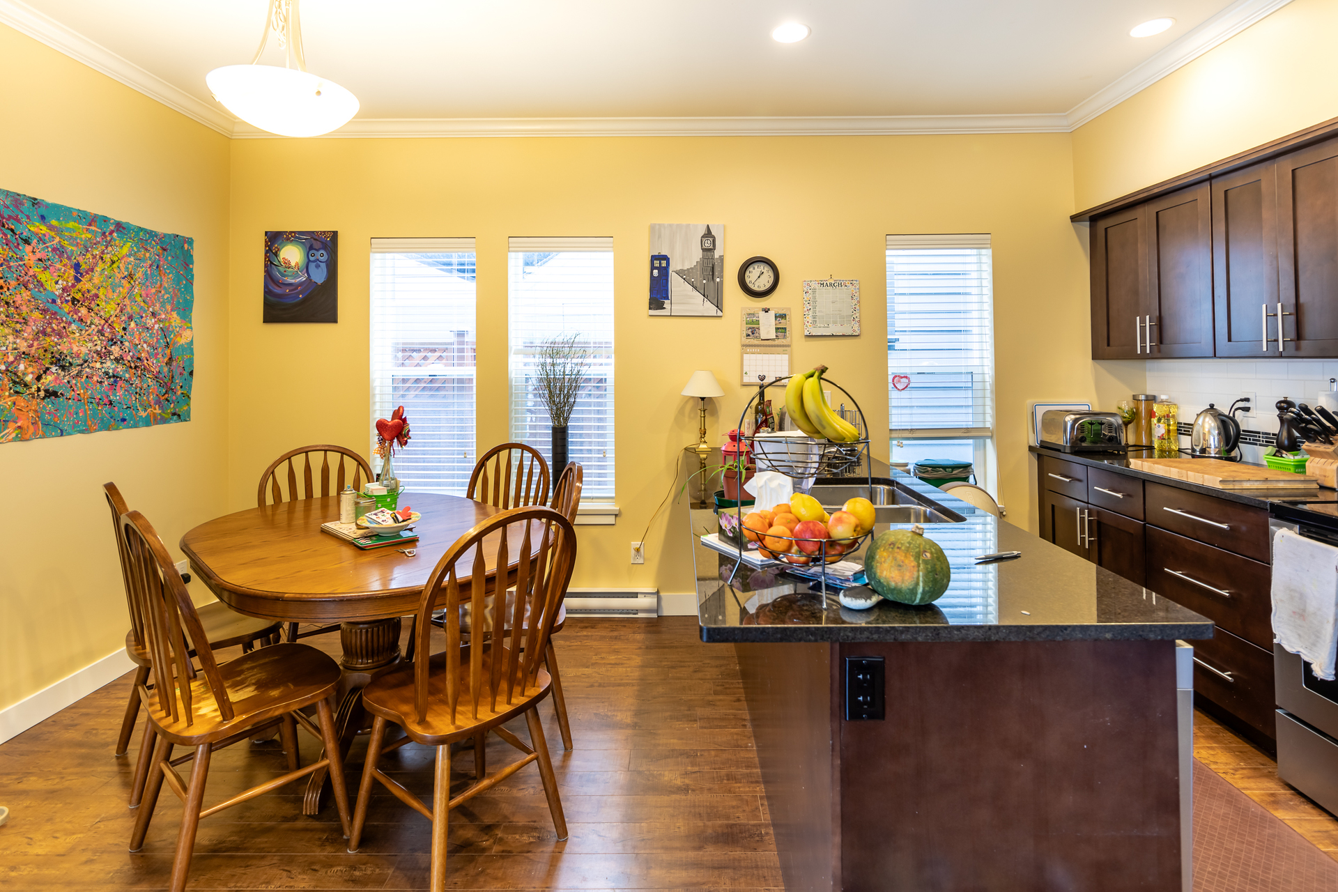 Kitchen & Dining Area at 3288 Merlin Road, Happy Valley, Langford