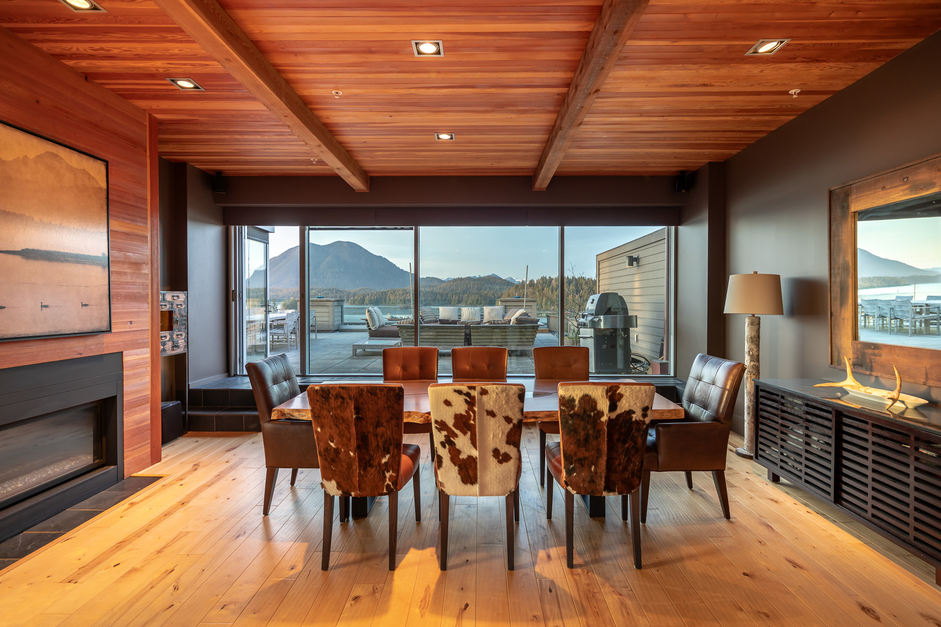 Dining Area & Rooftop Patio at 401 - 368 Main Street, Tofino Tofino, Vancouver Island