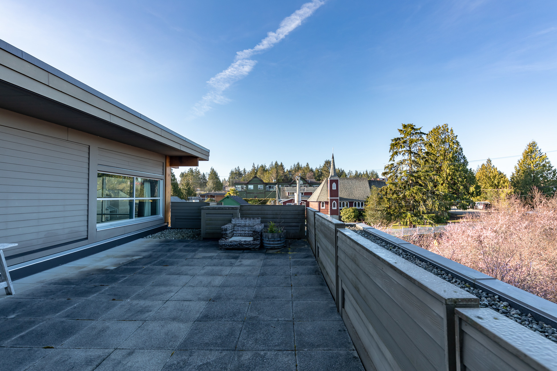 Secondary Rooftop Patio at 401 - 368 Main Street, Tofino Tofino, Vancouver Island