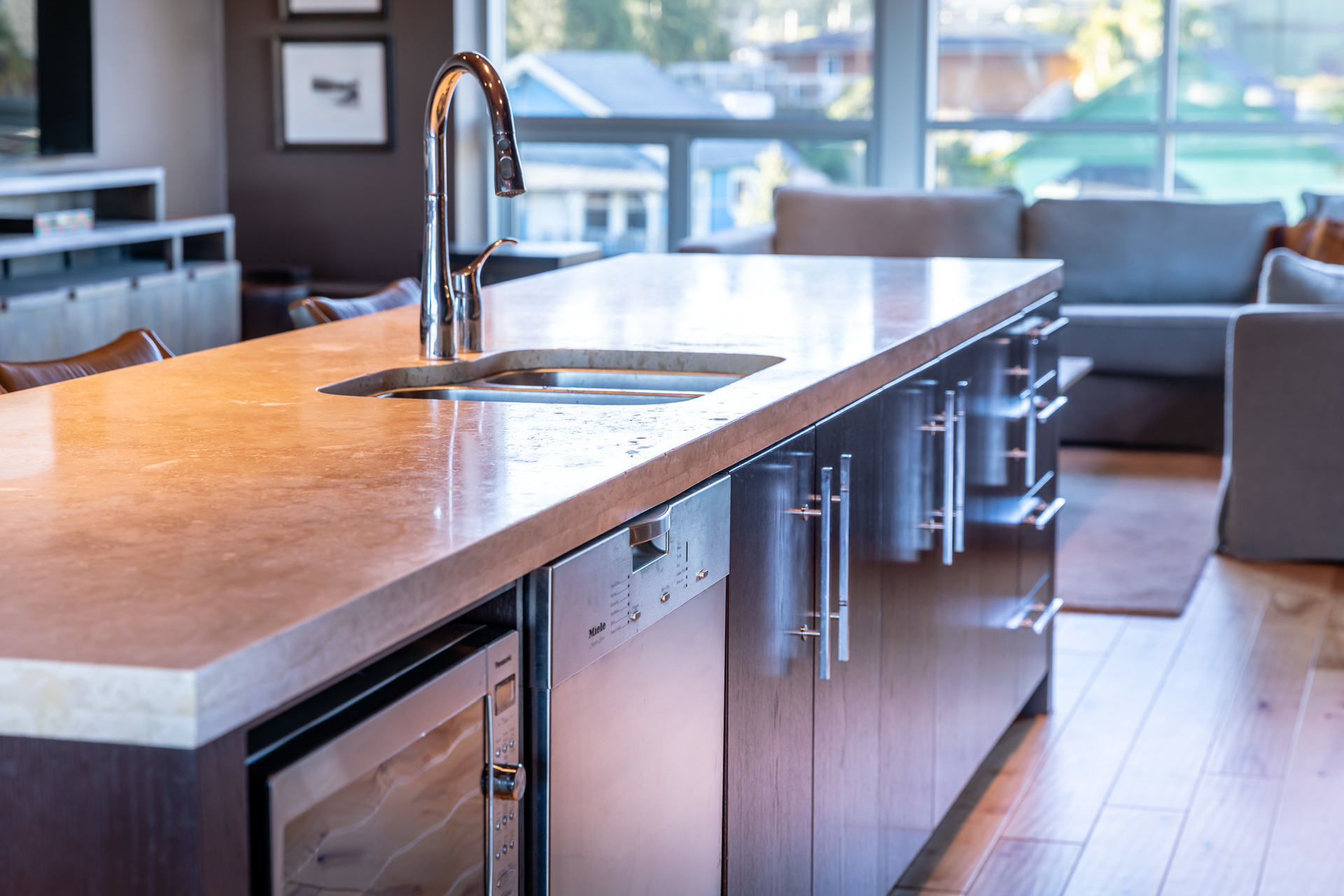 Kitchen at 401 - 368 Main Street, Tofino Tofino, Vancouver Island