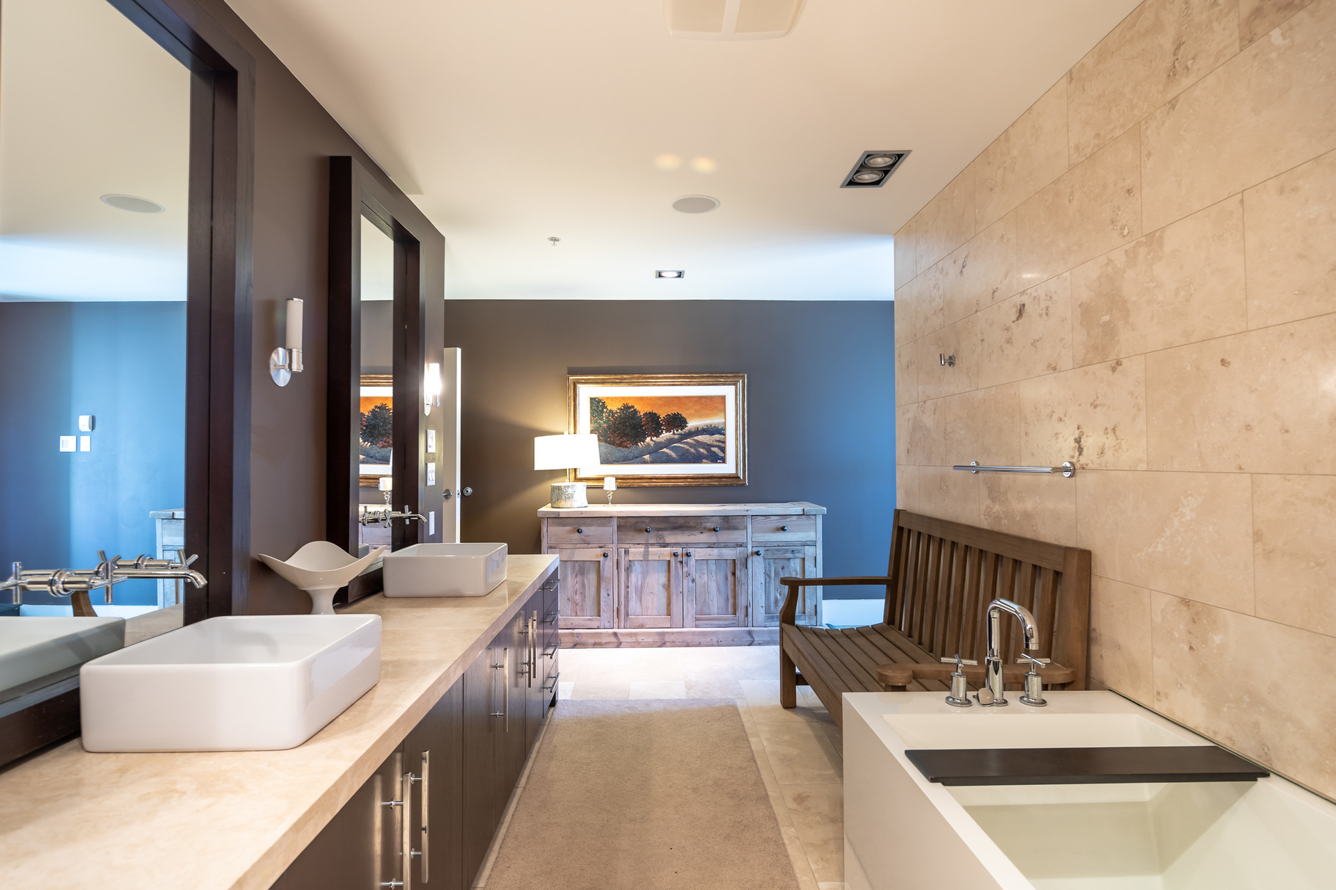 Ensuite Master Bathroom at 401 - 368 Main Street, Tofino Tofino, Vancouver Island