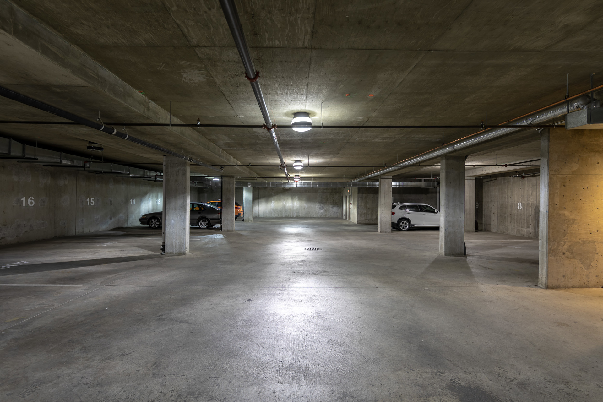 Secure Underground Parking at 401 - 368 Main Street, Tofino Tofino, Vancouver Island