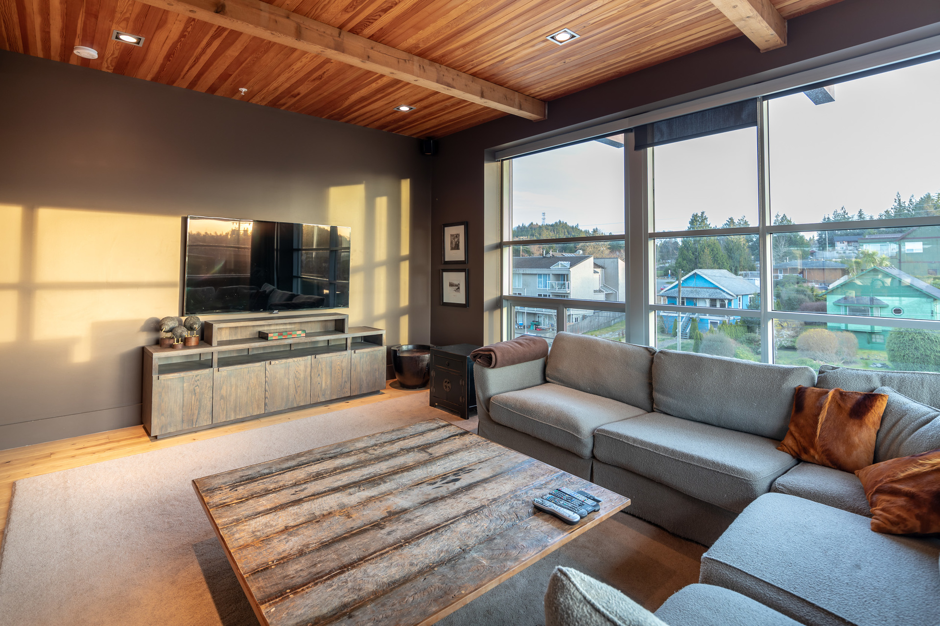 Living Room at 401 - 368 Main Street, Tofino Tofino, Vancouver Island