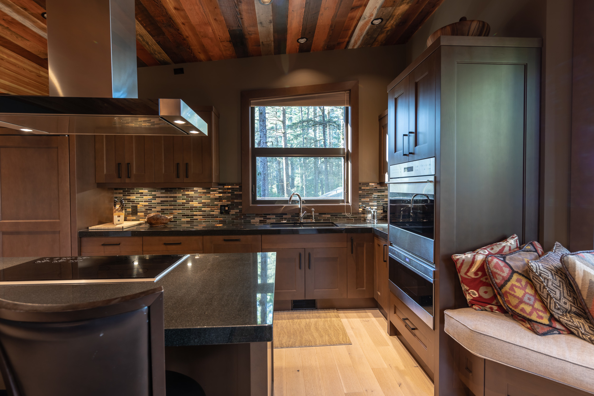 Guest House Kitchen at 1277 & 1281 Lynn Road, Tofino, Vancouver Island