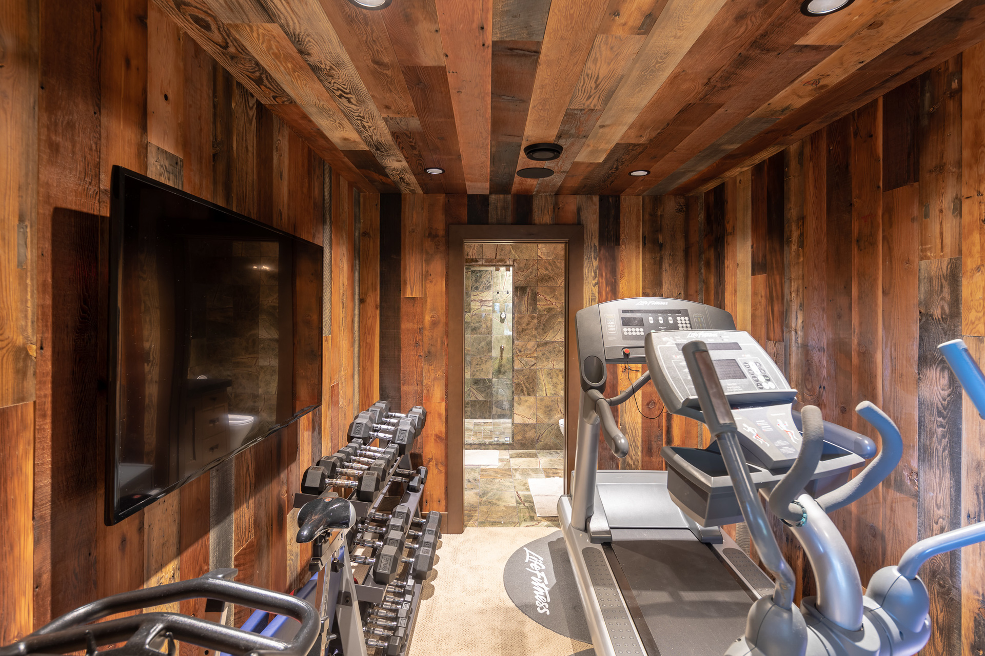 Guest House Gym at 1277 & 1281 Lynn Road, Tofino, Vancouver Island