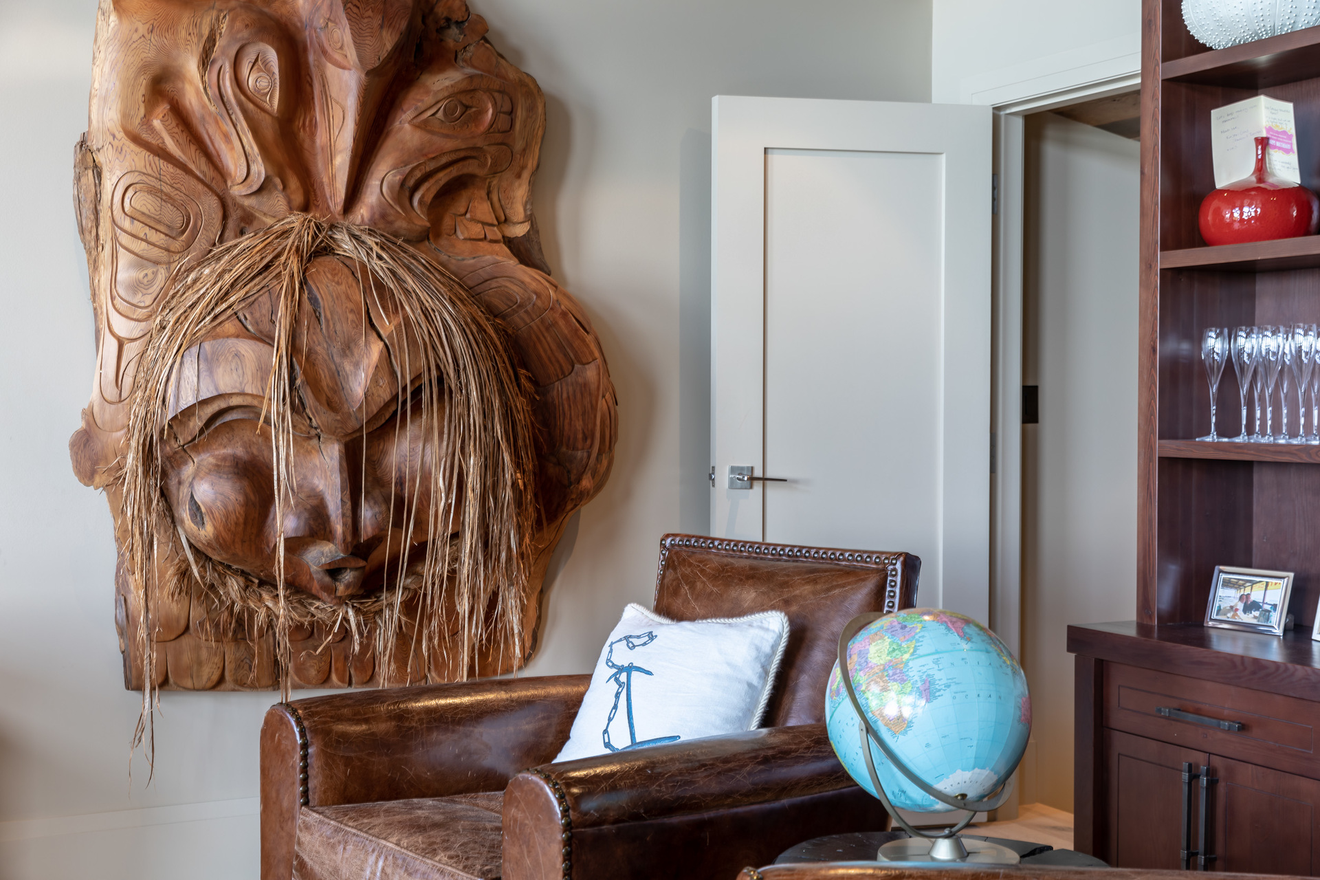 Entry To The Main Living Room at 1277 & 1281 Lynn Road, Tofino, Vancouver Island