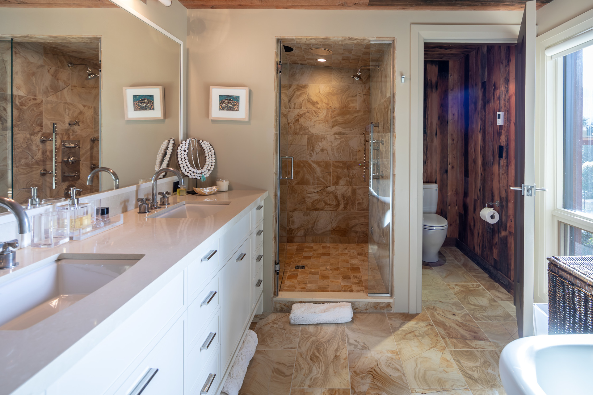 Master Ensuite at 1277 & 1281 Lynn Road, Tofino, Vancouver Island