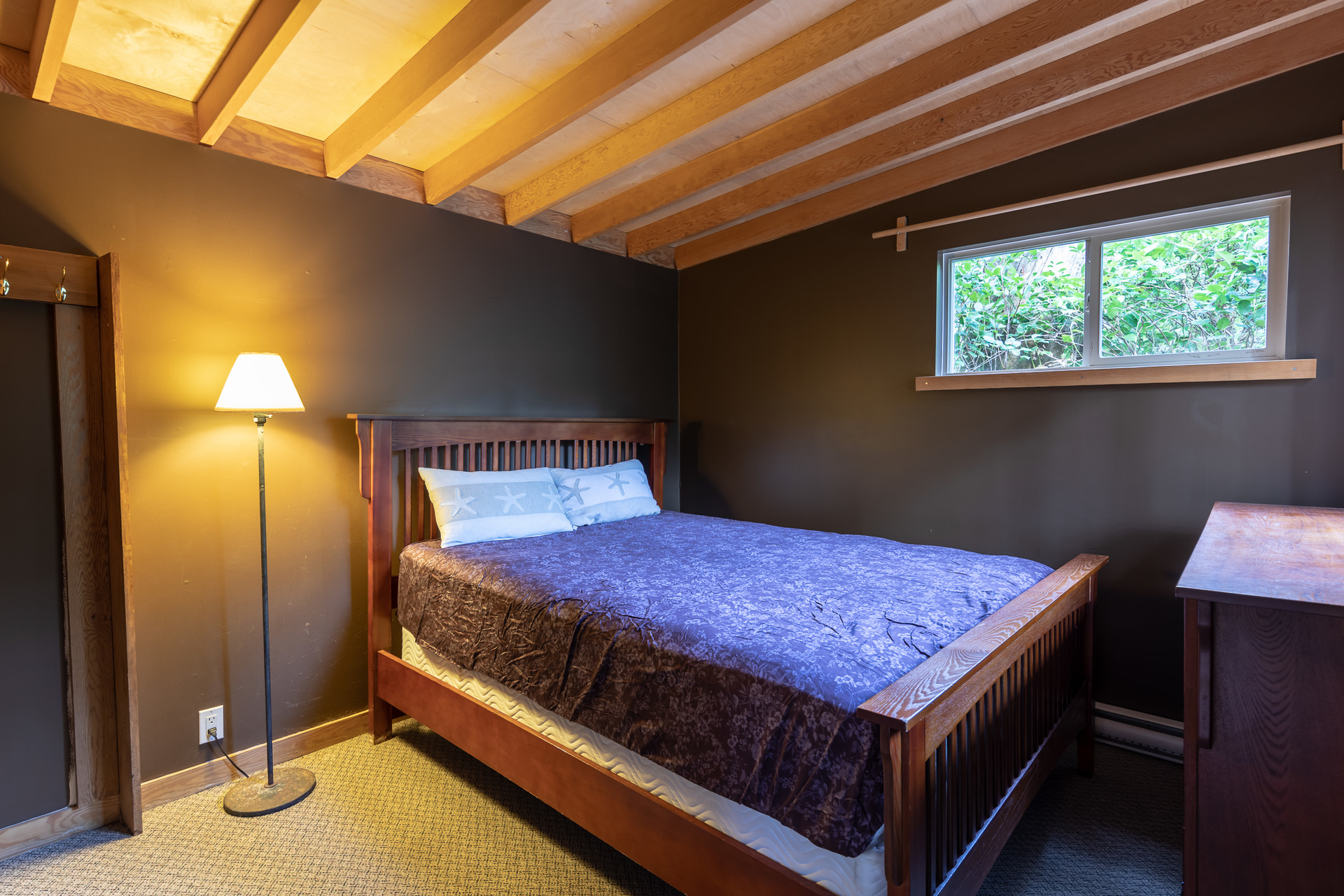 Cottage Bedroom at 1277 & 1281 Lynn Road, Tofino, Vancouver Island