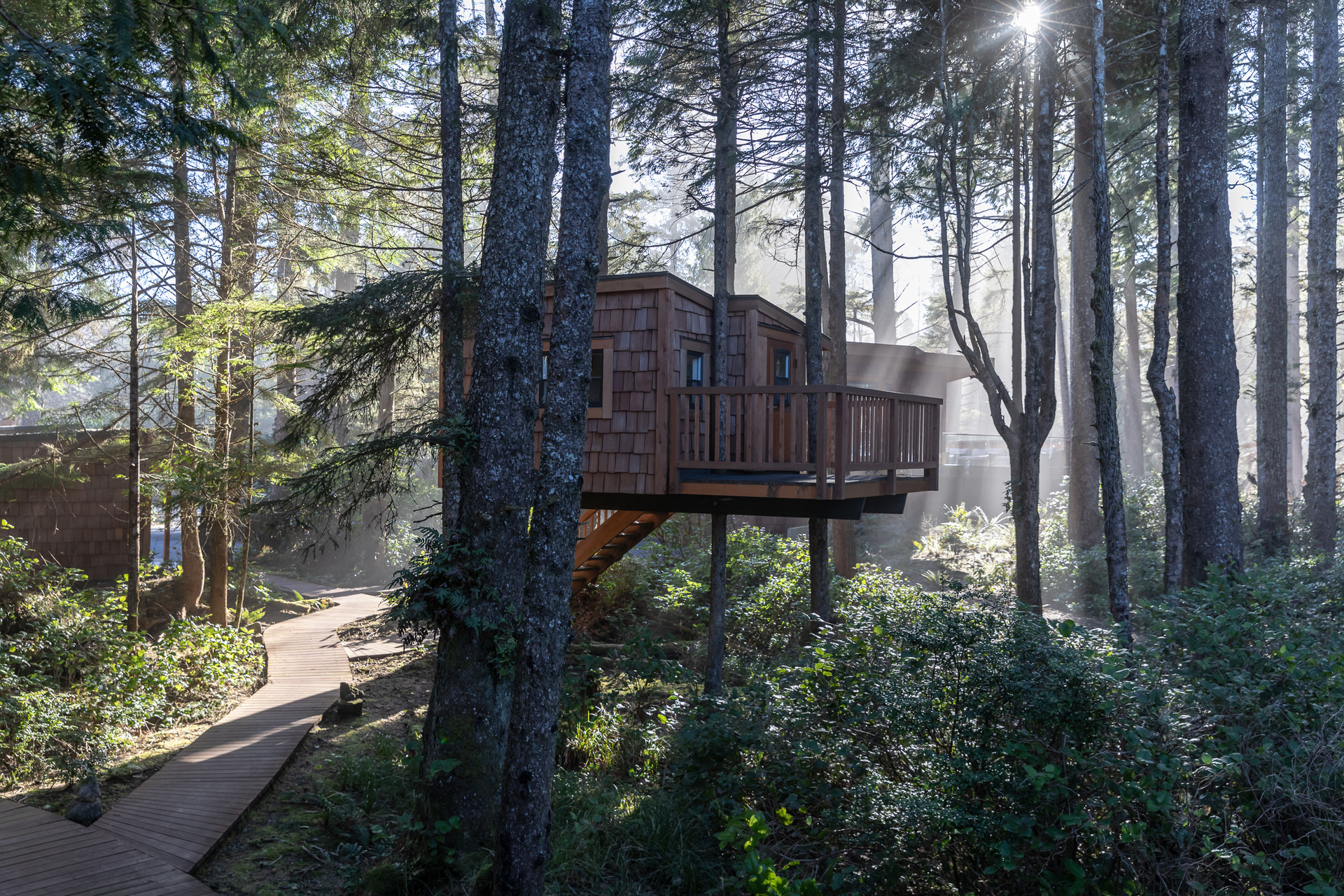 Treehouse at 1277 & 1281 Lynn Road, Tofino, Vancouver Island