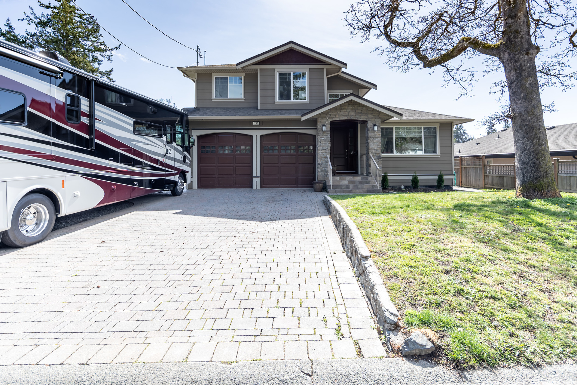 Space For RV's at 745 Miller Avenue, Royal Oak, Saanich West