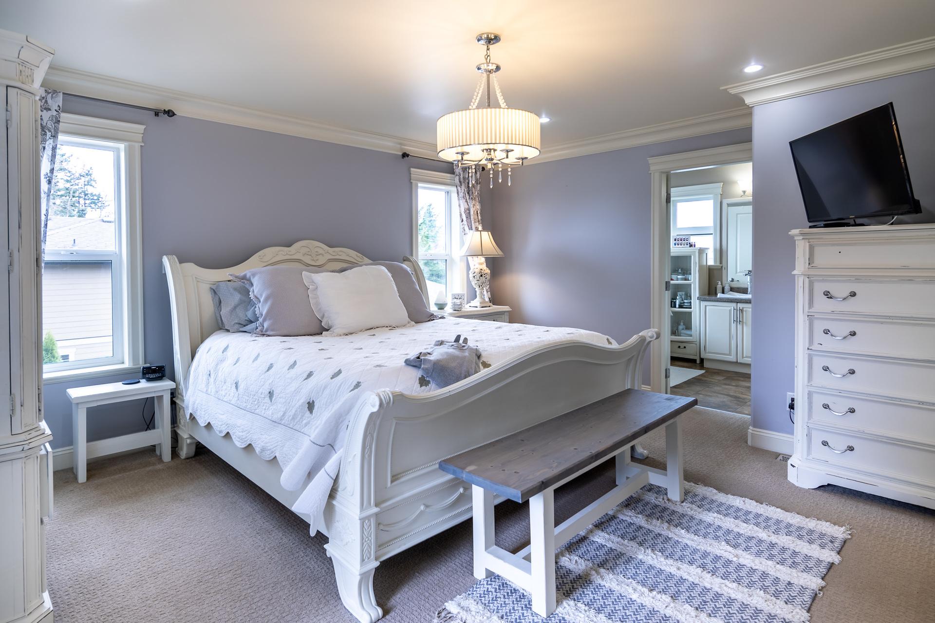 Upper Floor Master Bedroom at 745 Miller Avenue, Royal Oak, Saanich West