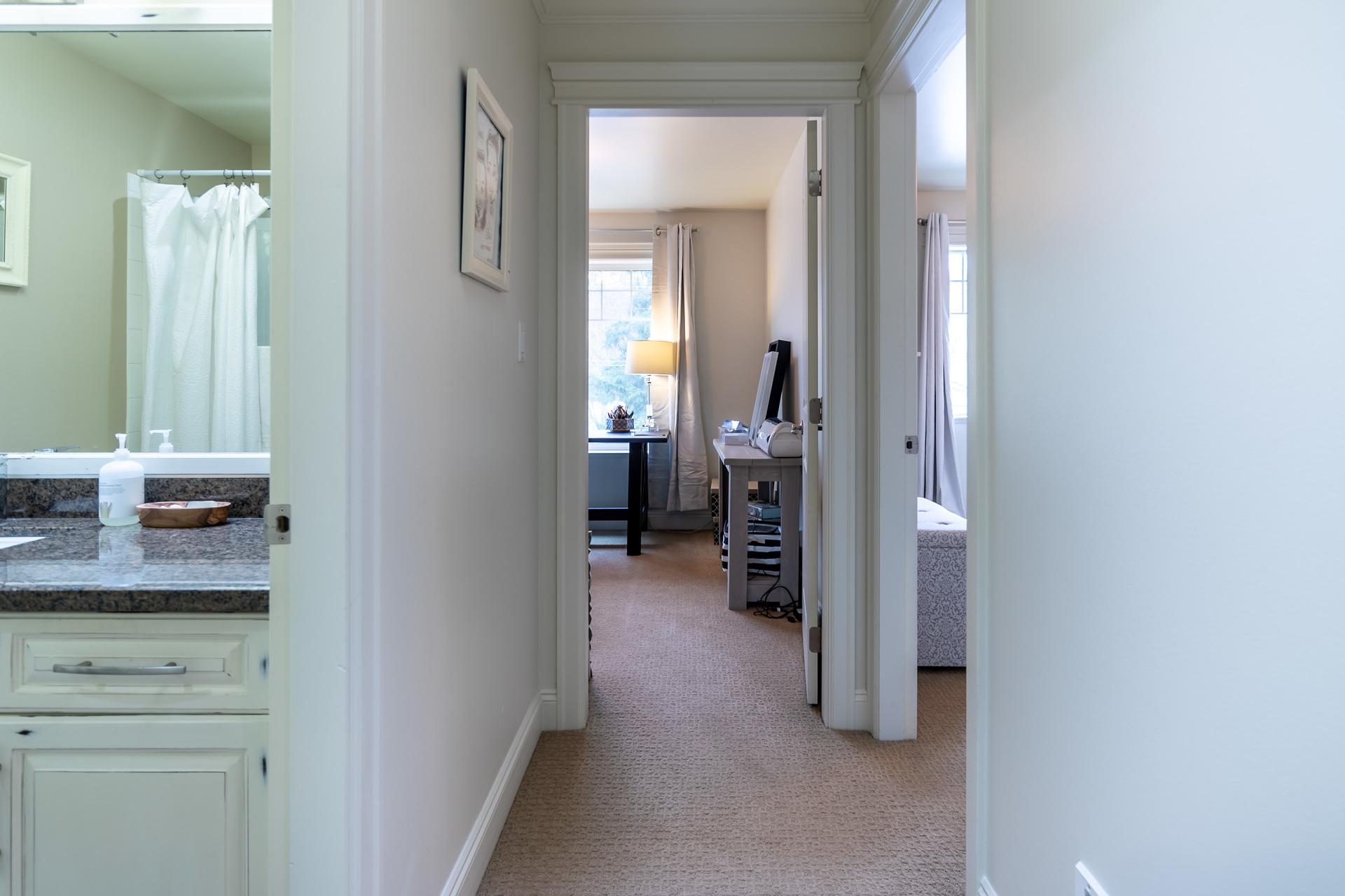 Upper Floor Hallway at 745 Miller Avenue, Royal Oak, Saanich West