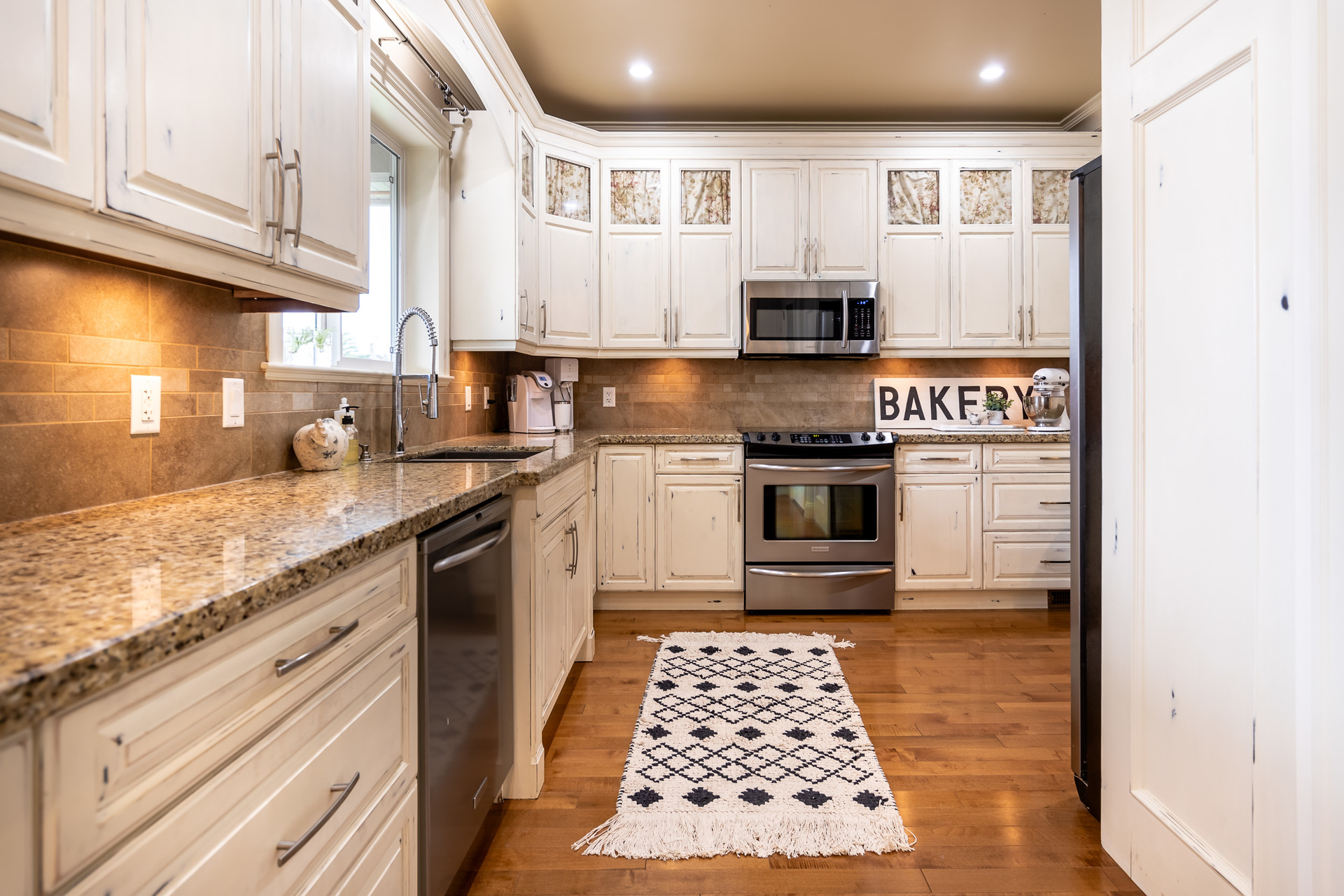 Main Floor Kitchen at 745 Miller Avenue, Royal Oak, Saanich West