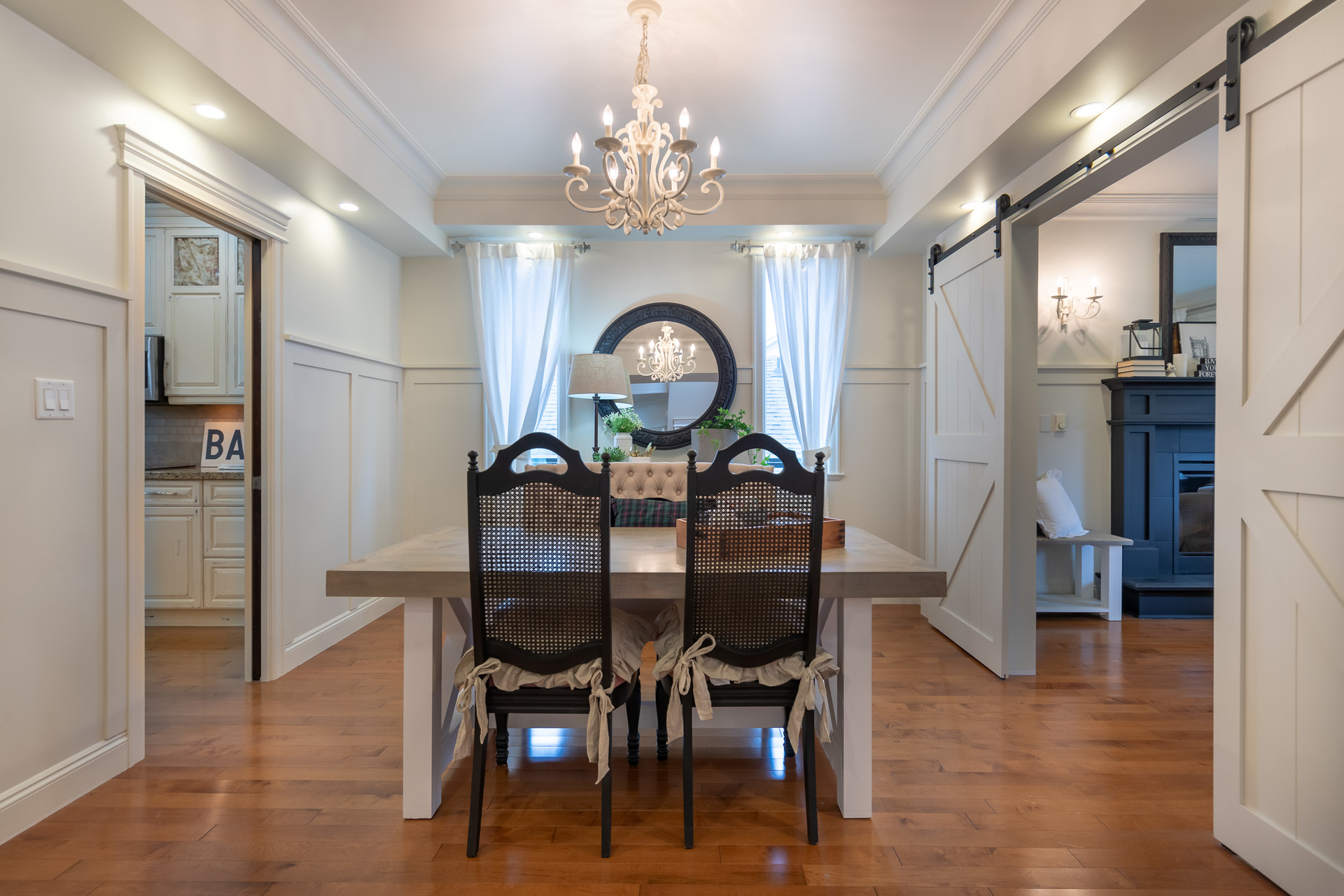 Main Floor Dining Room at 745 Miller Avenue, Royal Oak, Saanich West