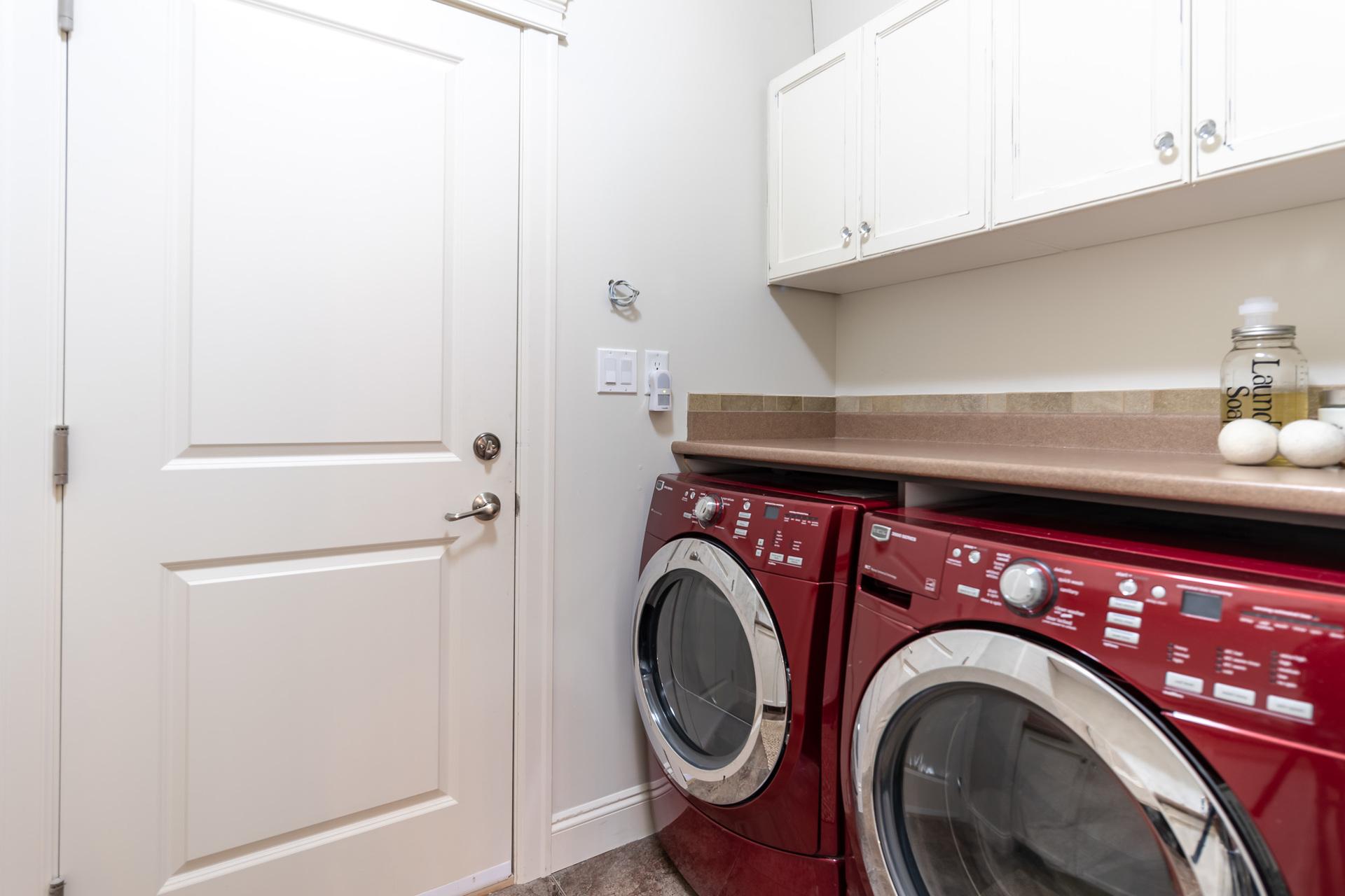 Main Floor Laundry Room at 745 Miller Avenue, Royal Oak, Saanich West