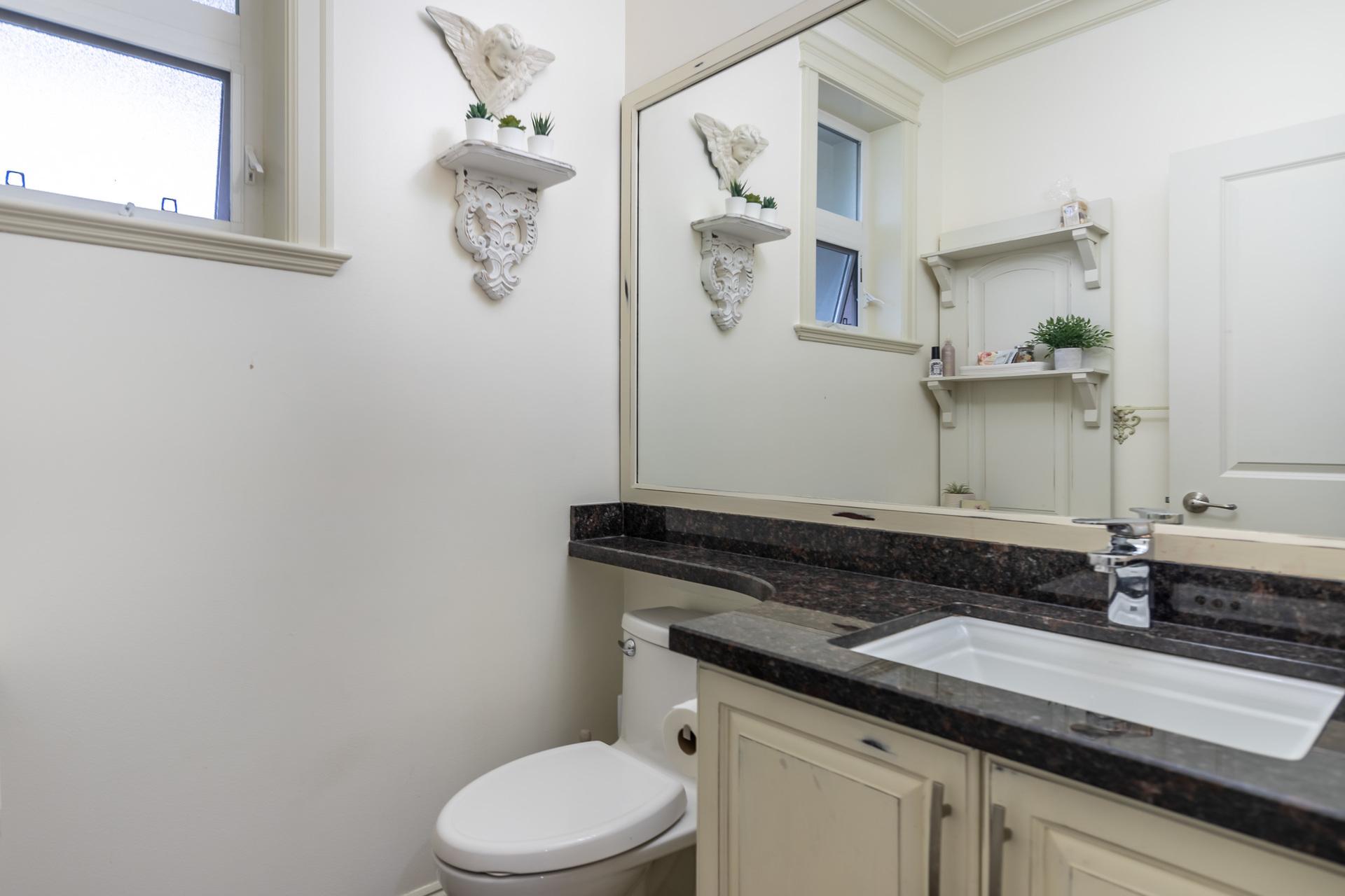 Main Floor Bathroom at 745 Miller Avenue, Royal Oak, Saanich West