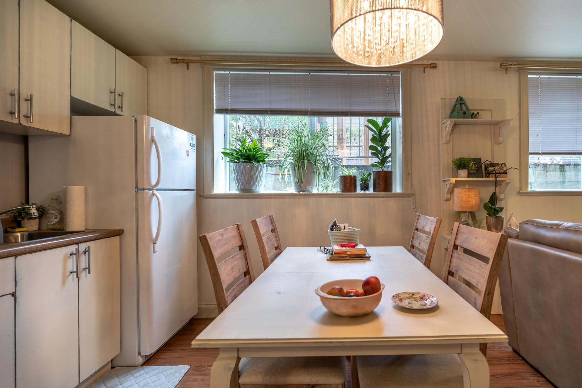 In-Law Suite Kitchen at 745 Miller Avenue, Royal Oak, Saanich West