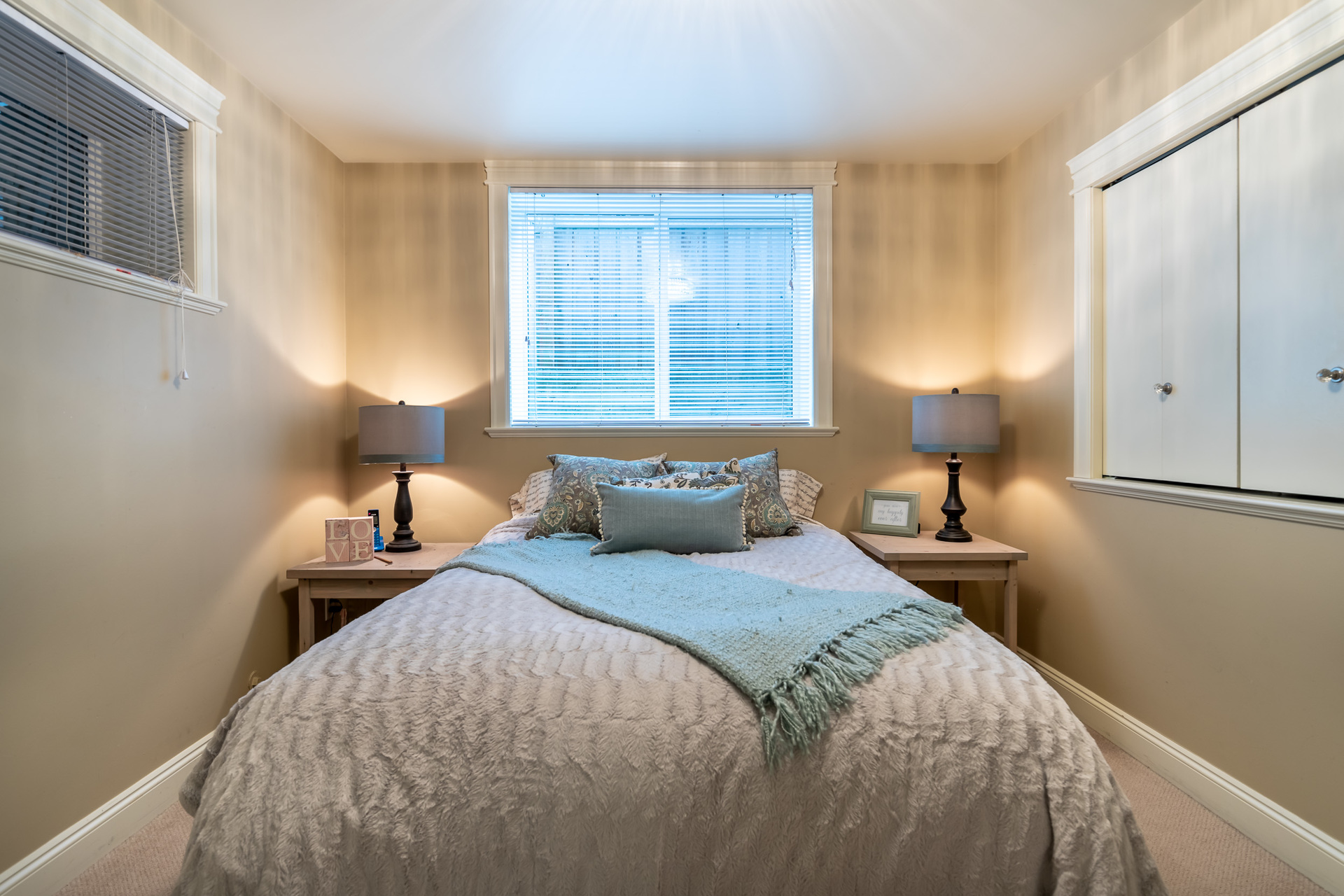 In-Law Suite Bedroom at 745 Miller Avenue, Royal Oak, Saanich West