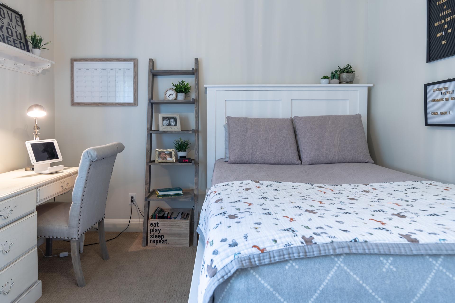 Upper Floor Guest Bedroom at 745 Miller Avenue, Royal Oak, Saanich West