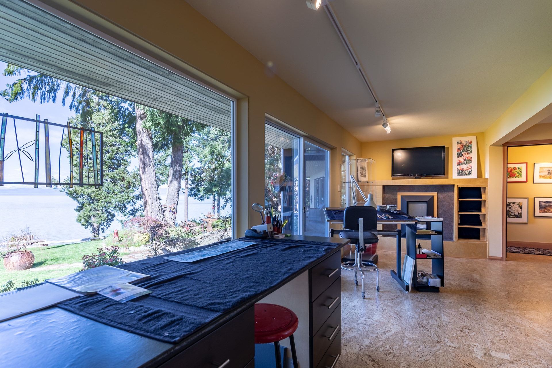 Main Studio/Office at 5101 Island Highway West, Qualicum Beach, Zone 05 - Parksville/Qualicum