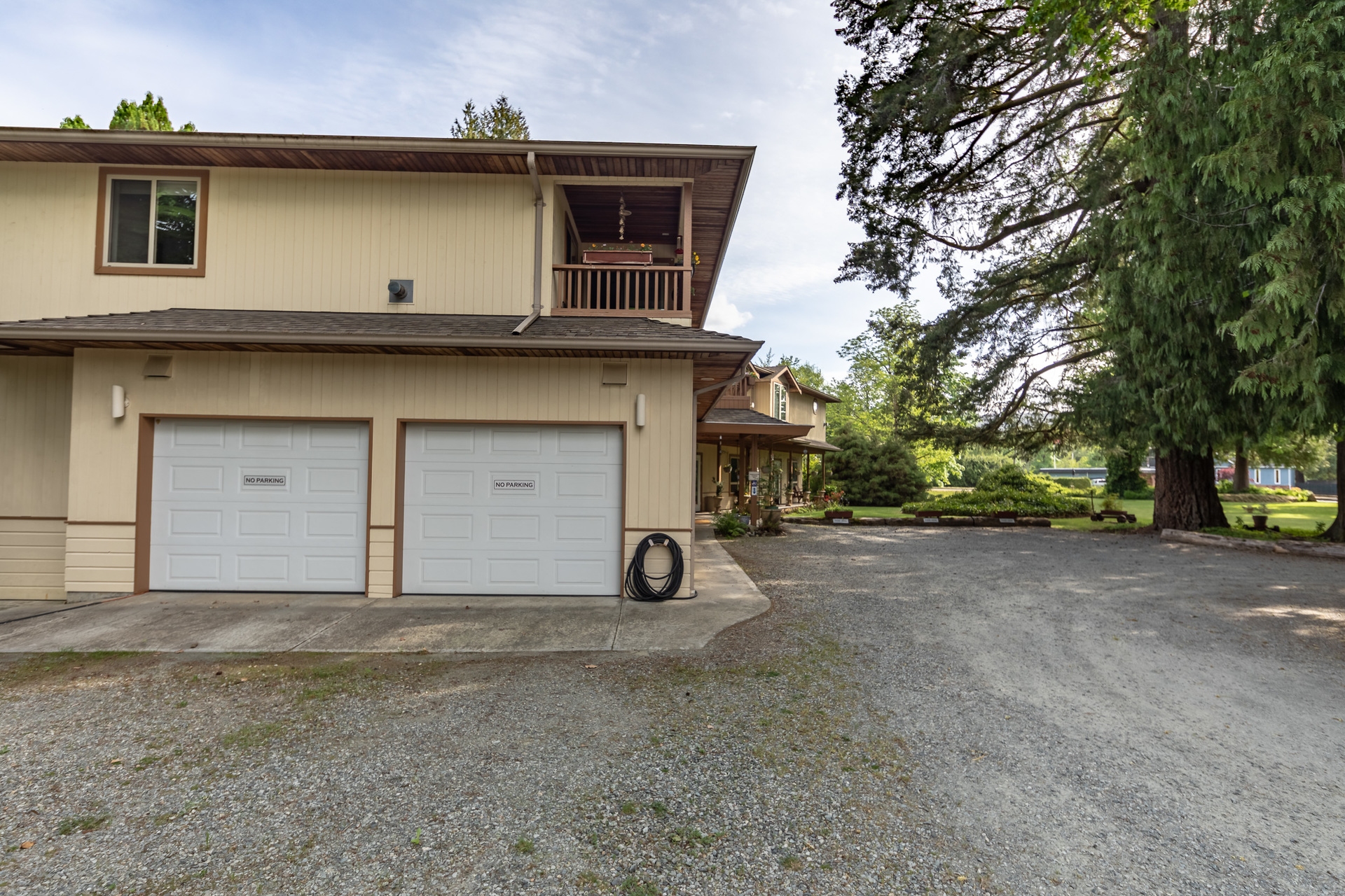 Double Garage With Workshop at 5895 River Road, Port Alberni, Vancouver Island